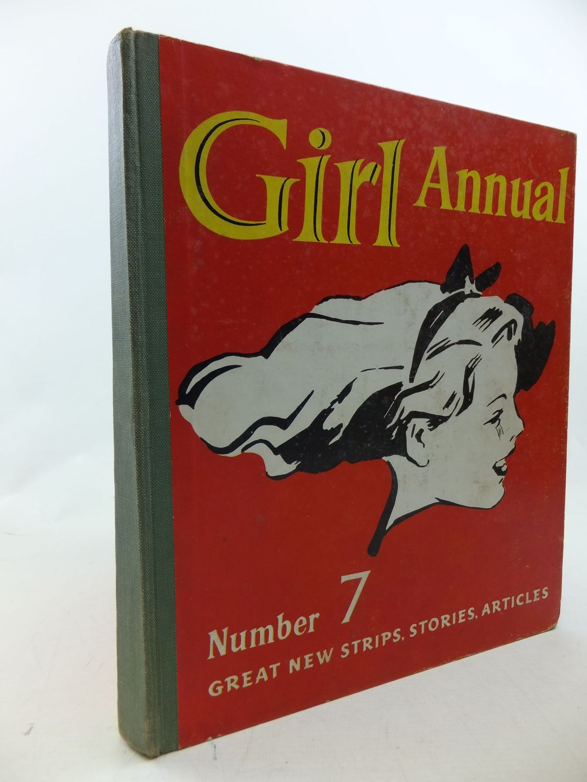 Photo of GIRL ANNUAL No. 7 written by Morris, Marcus published by Hulton Press Ltd. (STOCK CODE: 2114107)  for sale by Stella & Rose's Books
