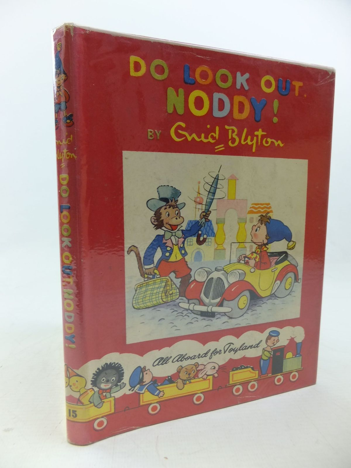 Photo of DO LOOK OUT, NODDY! written by Blyton, Enid illustrated by Lee, Robert Tyndall, Robert published by Sampson Low, Marston & Co. Ltd., Dennis Dobson Ltd. (STOCK CODE: 2114122)  for sale by Stella & Rose's Books