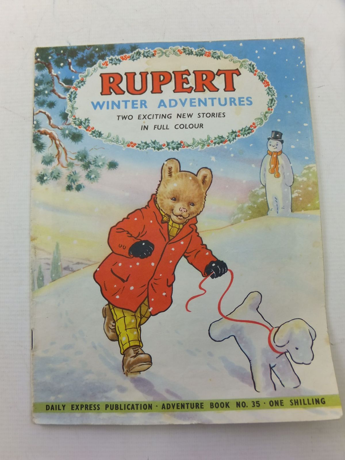 Photo of RUPERT ADVENTURE BOOK No. 35 - WINTER ADVENTURES written by Bestall, Alfred published by Daily Express, Oldbourne Book Co. Ltd. (STOCK CODE: 2114249)  for sale by Stella & Rose's Books
