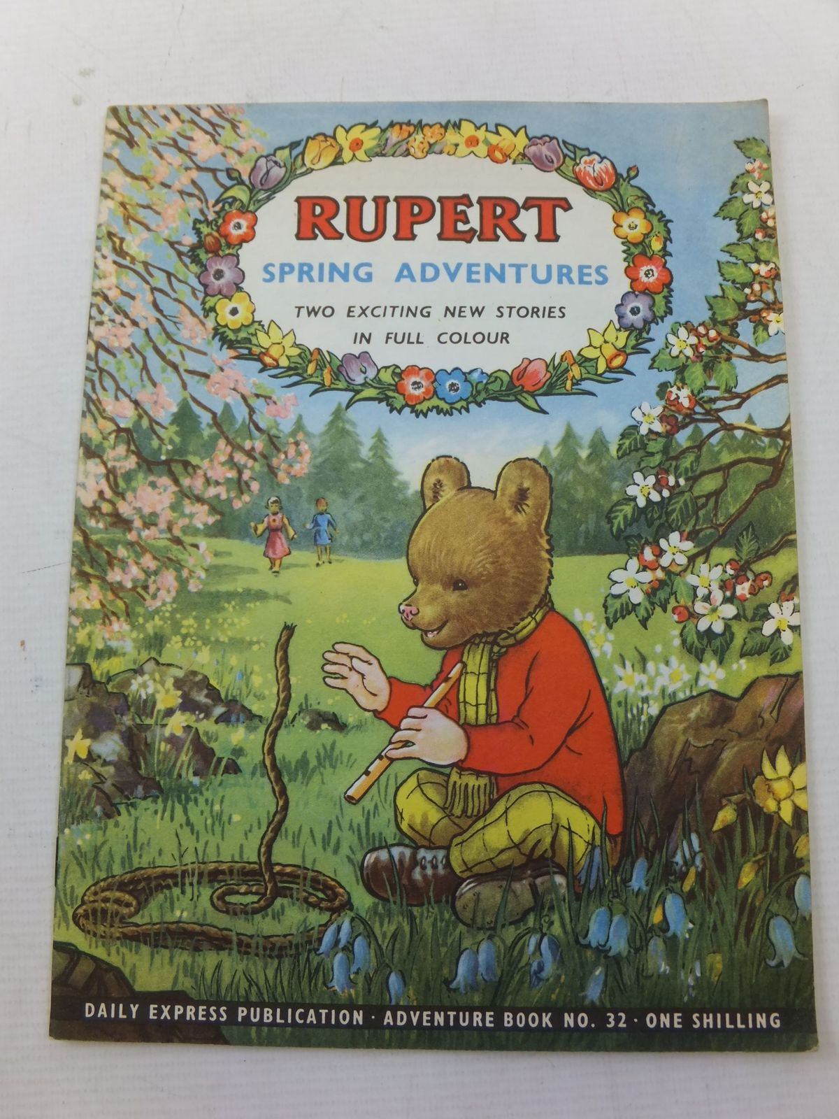 Photo of RUPERT ADVENTURE BOOK No. 32 - SPRING ADVENTURES written by Bestall, Alfred published by Daily Express (STOCK CODE: 2114250)  for sale by Stella & Rose's Books