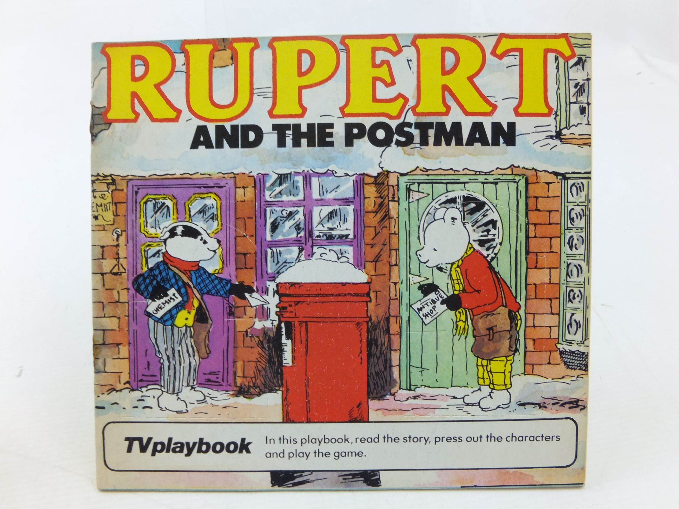 Photo of RUPERT AND THE POSTMAN- Stock Number: 2114269