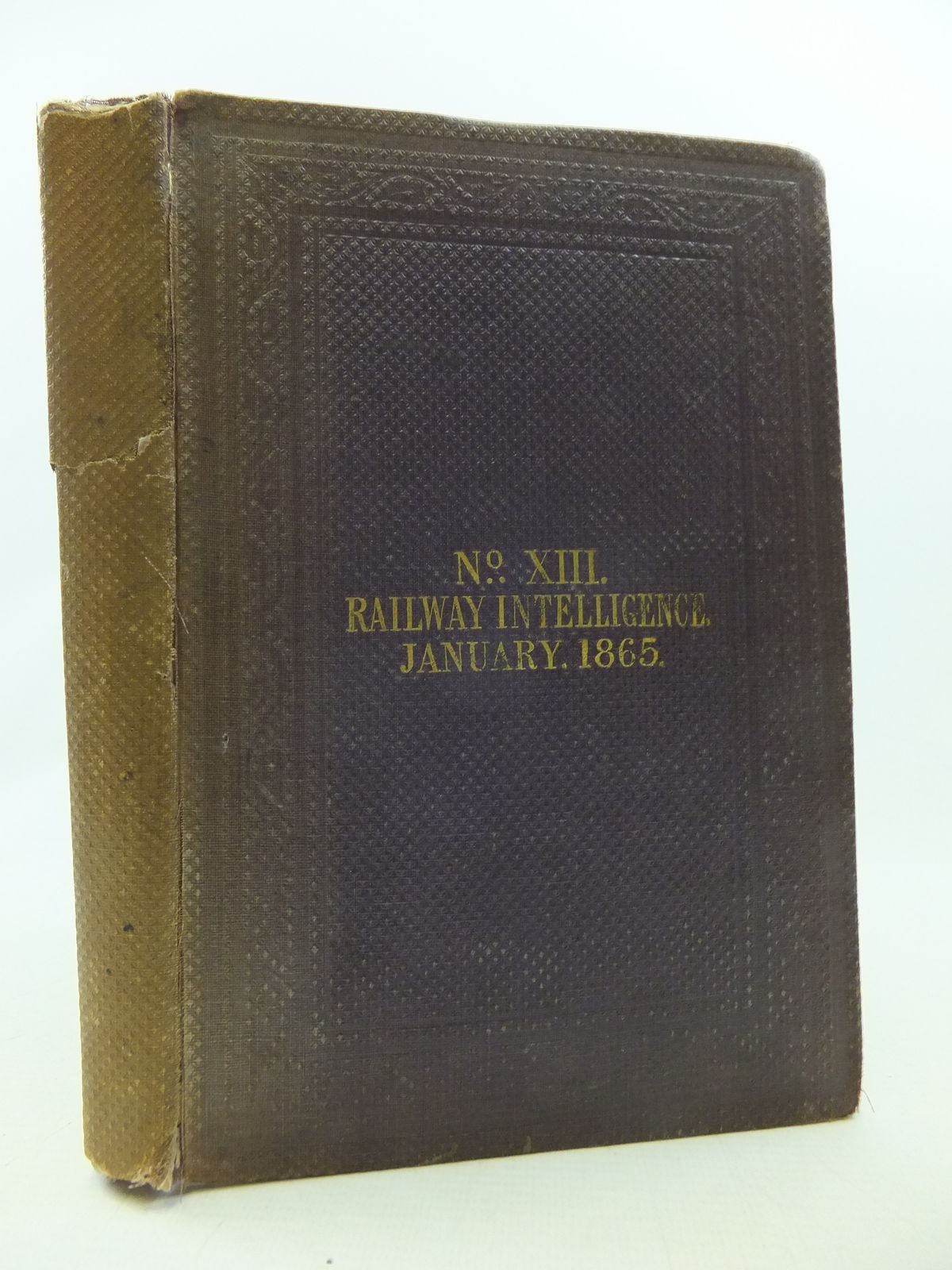 Photo of RAILWAY INTELLIGENCE, JANUARY 1865 written by Slaughter, Mihill (STOCK CODE: 2114426)  for sale by Stella & Rose's Books