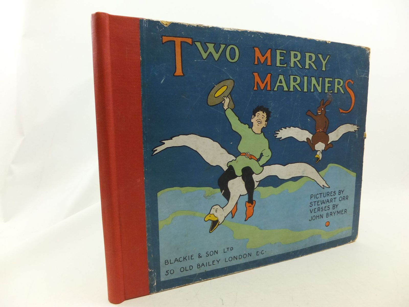 Photo of TWO MERRY MARINERS written by Brymer, John illustrated by Orr, Stewart published by Blackie & Son Ltd. (STOCK CODE: 2114541)  for sale by Stella & Rose's Books