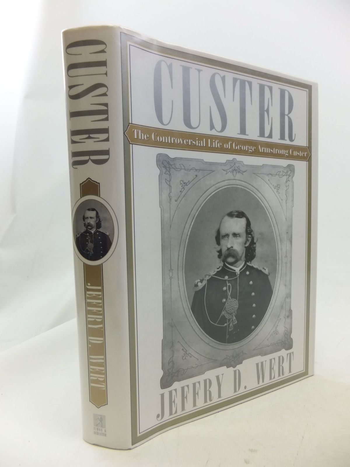Photo of CUSTER written by Wert, Jeffry D. published by Simon & Schuster (STOCK CODE: 2114564)  for sale by Stella & Rose's Books
