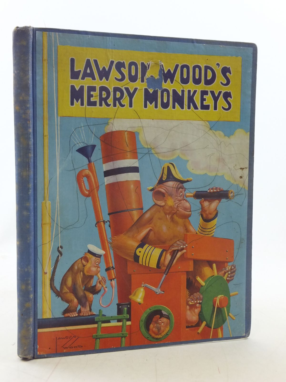 Photo of MERRY MONKEY'S written by Wood, Lawson illustrated by Wood, Lawson published by Birn Brothers Ltd. (STOCK CODE: 2114783)  for sale by Stella & Rose's Books
