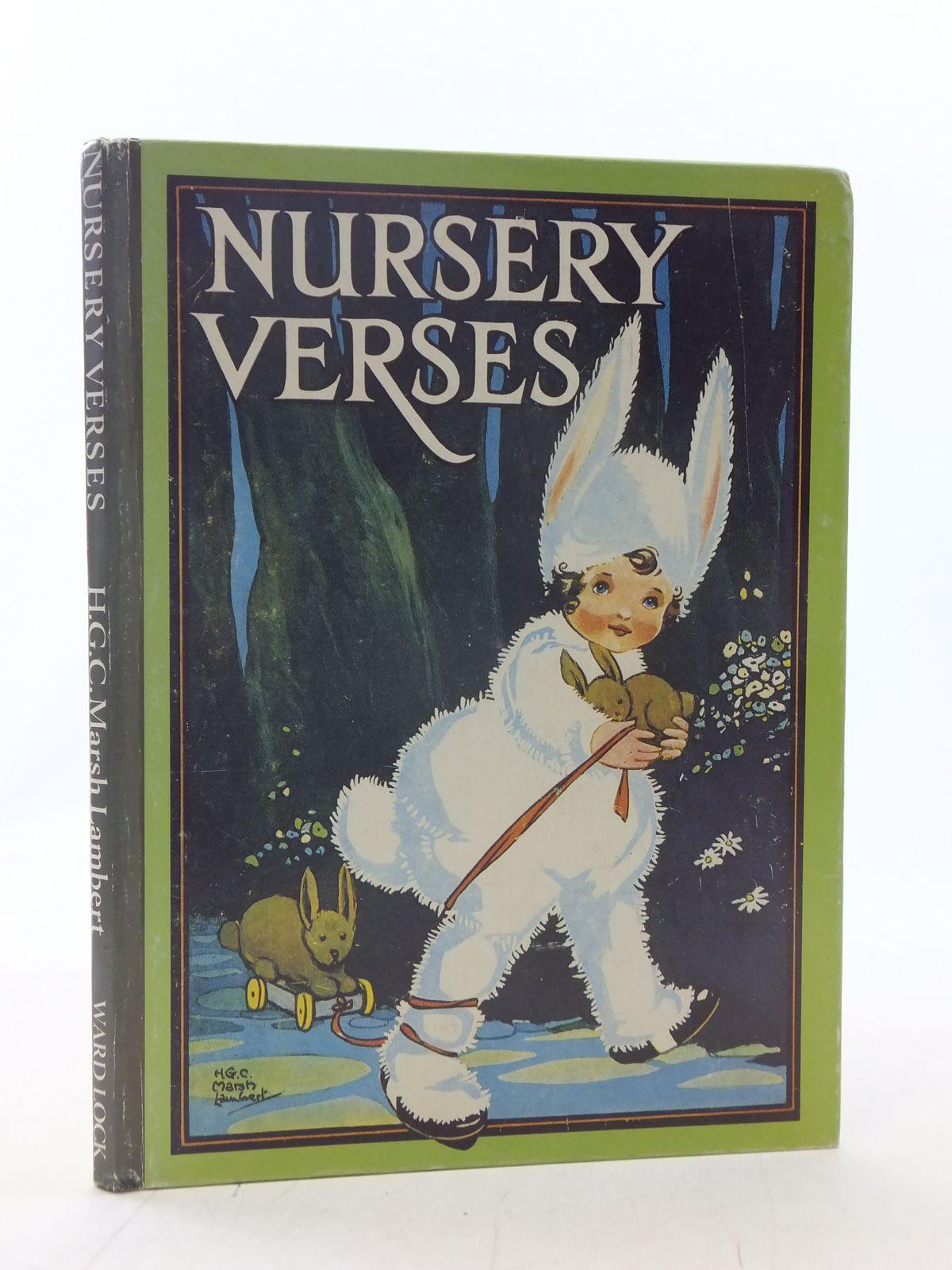 Photo of NURSERY VERSES illustrated by Lambert, H.G.C. Marsh published by Ward, Lock & Co. (STOCK CODE: 2114787)  for sale by Stella & Rose's Books