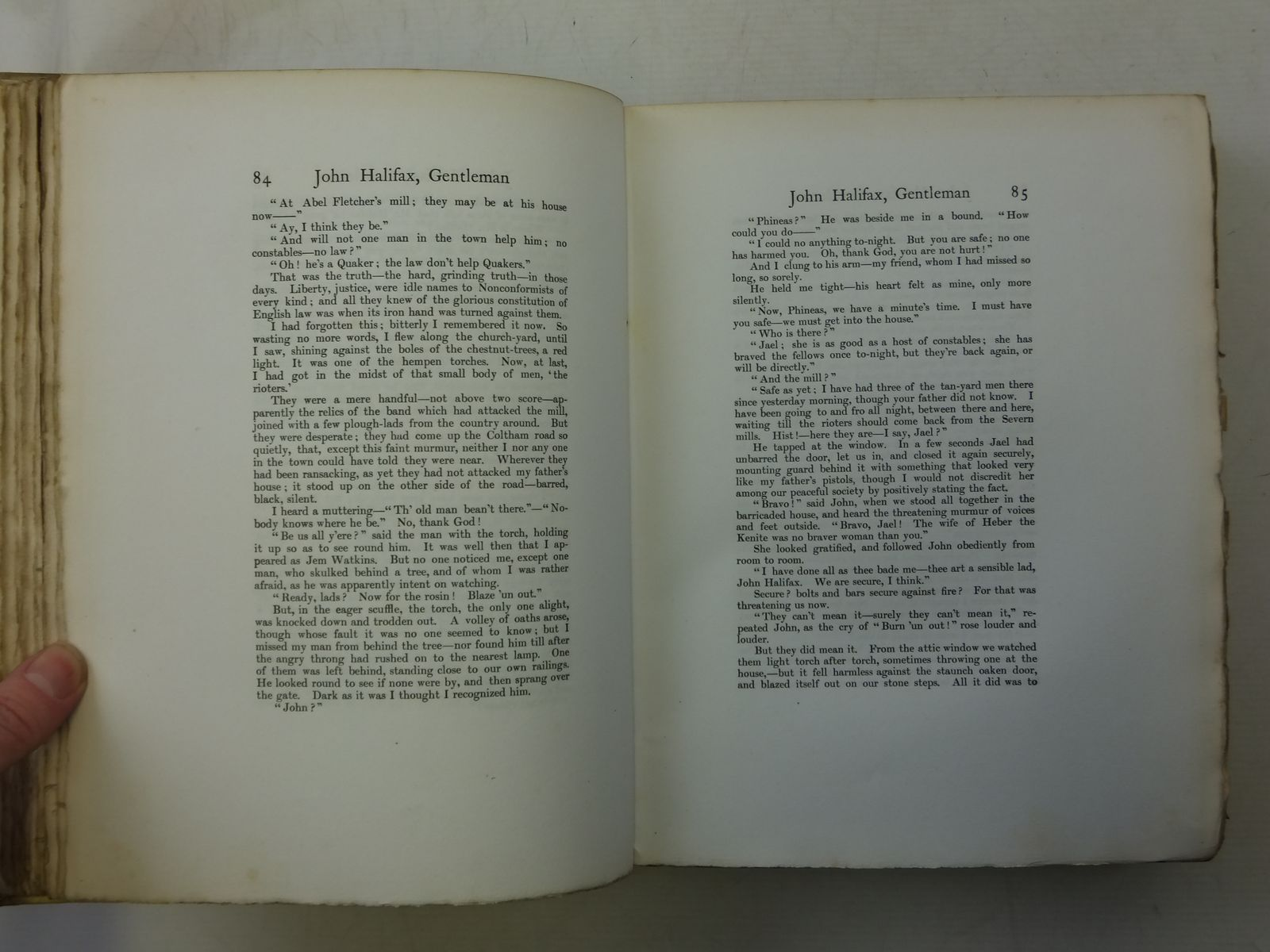 Photo of JOHN HALIFAX GENTLEMAN written by Murlock, Dinah Maria Home, Gordon illustrated by Moser, Oswald Nicholls, G.F. published by Adam & Charles Black (STOCK CODE: 2114825)  for sale by Stella & Rose's Books