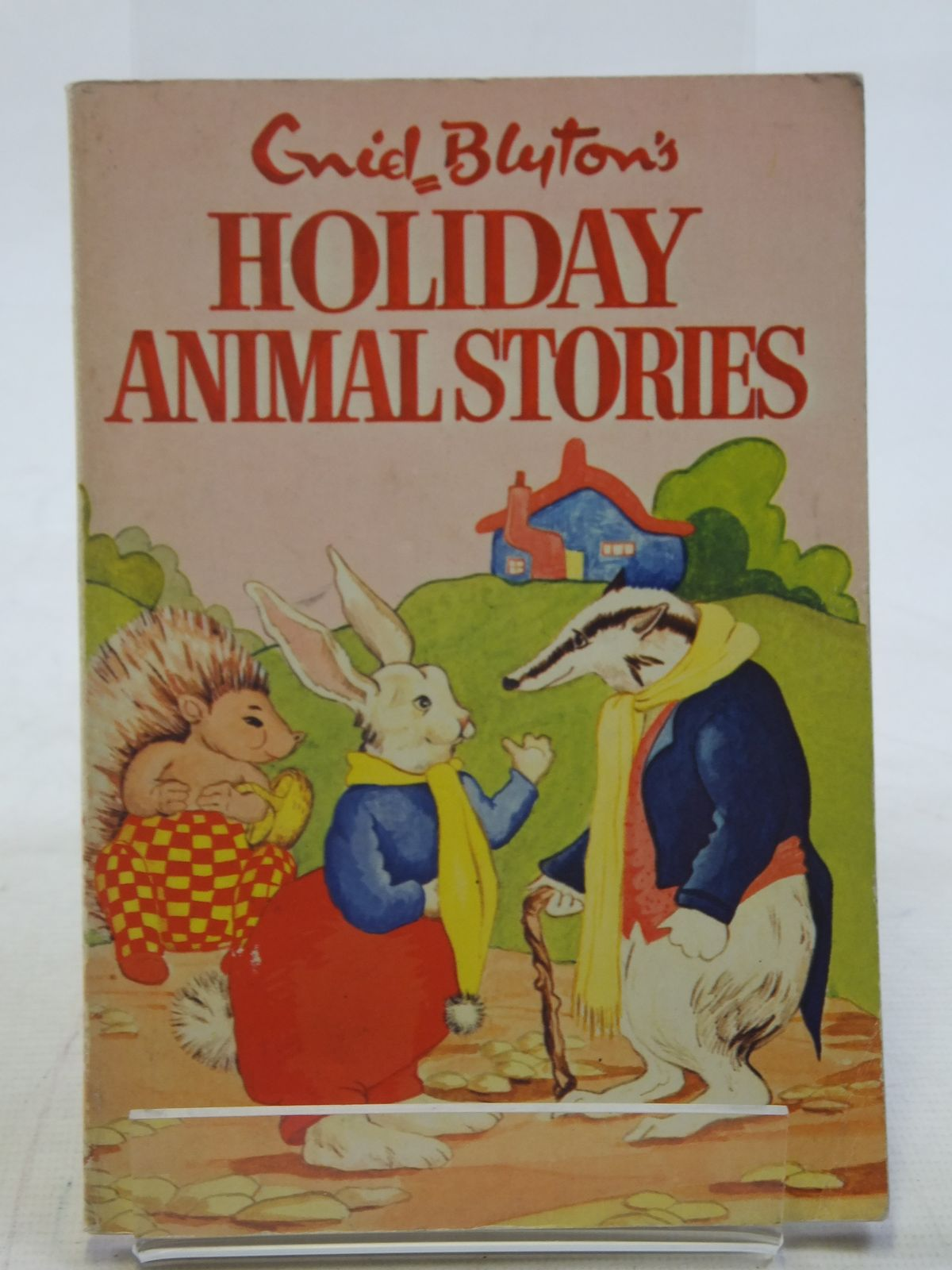 Photo of ENID BLYTON'S HOLIDAY ANIMAL STORIES written by Blyton, Enid published by Sampson Low, Marston & Co. Ltd., The Richards Press Ltd. (STOCK CODE: 2114862)  for sale by Stella & Rose's Books