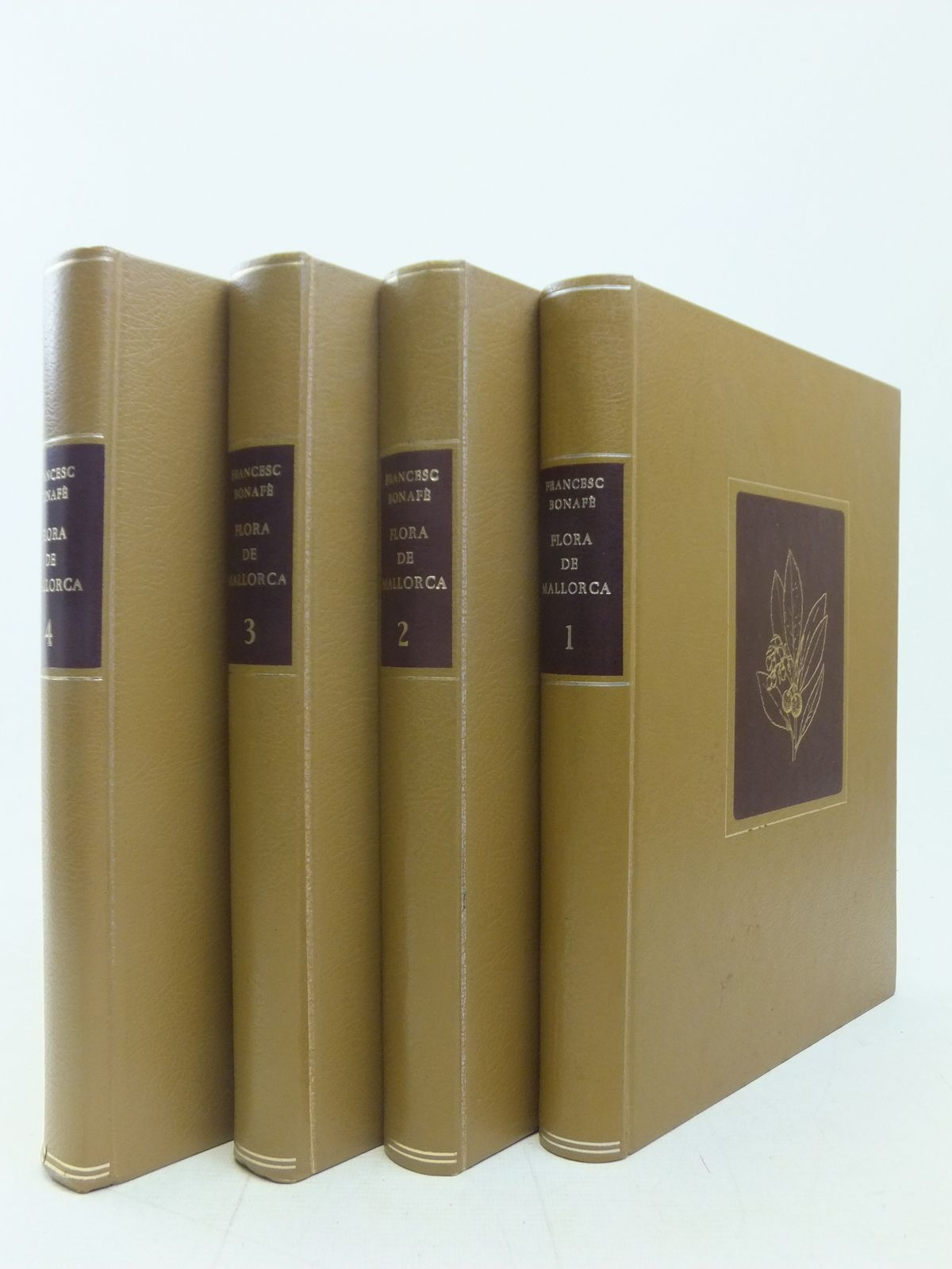 Photo of FLORA DE MALLORA (4 VOLUMES)- Stock Number: 2114978