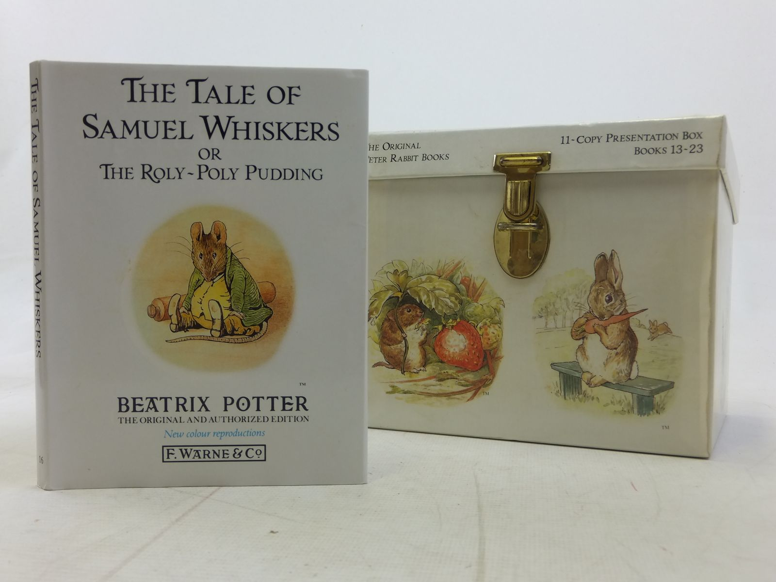 Photo of THE FRIENDS OF PETER RABBIT written by Potter, Beatrix illustrated by Potter, Beatrix published by Frederick Warne & Co Ltd. (STOCK CODE: 2115011)  for sale by Stella & Rose's Books