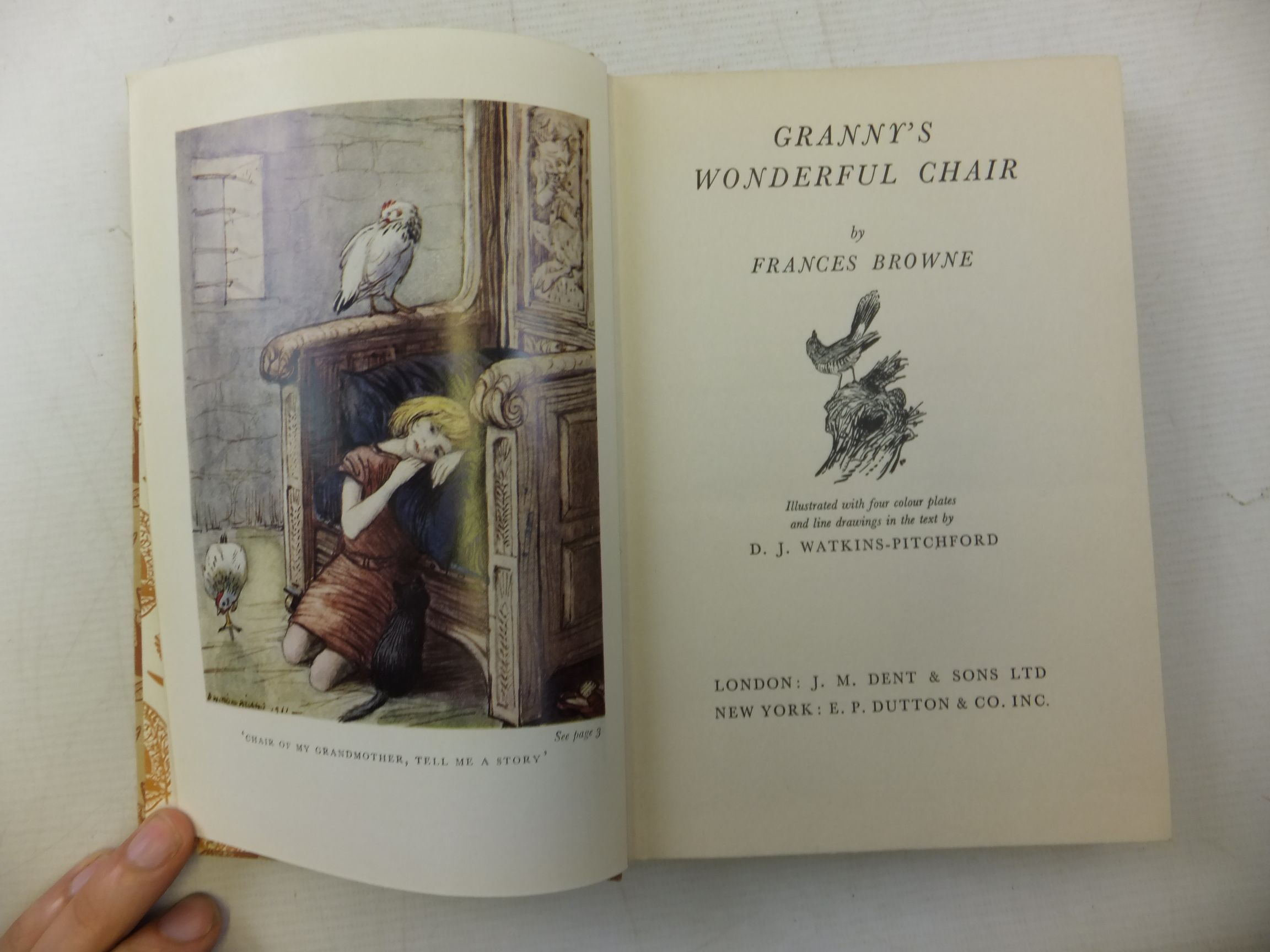 Photo of GRANNY'S WONDERFUL CHAIR written by Browne, Frances illustrated by BB,  published by J.M. Dent & Sons Ltd. (STOCK CODE: 2115311)  for sale by Stella & Rose's Books