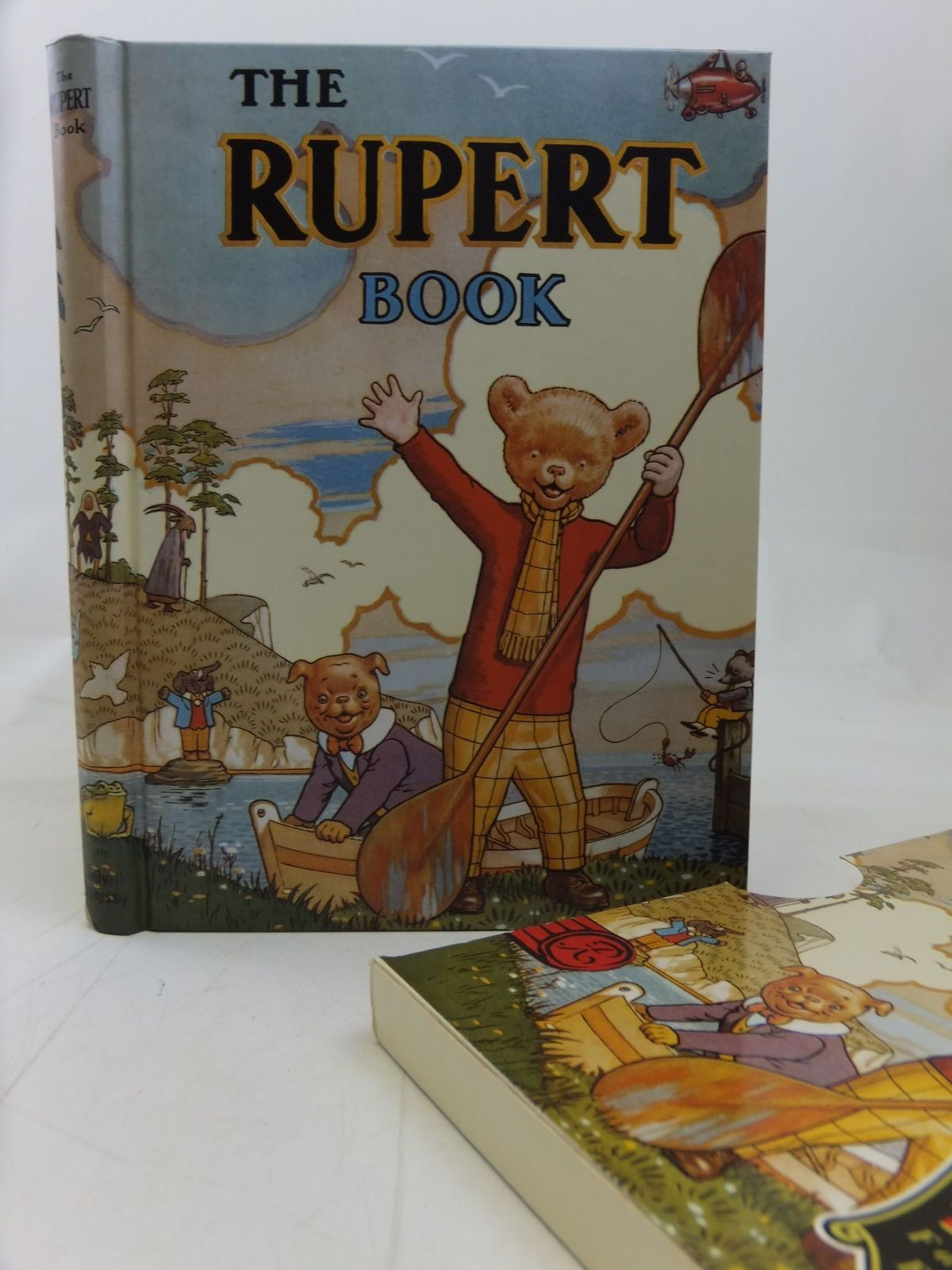Photo of RUPERT ANNUAL 1941 (FACSIMILE) - THE RUPERT BOOK written by Bestall, Alfred illustrated by Bestall, Alfred published by Pedigree Books Limited (STOCK CODE: 2115433)  for sale by Stella & Rose's Books