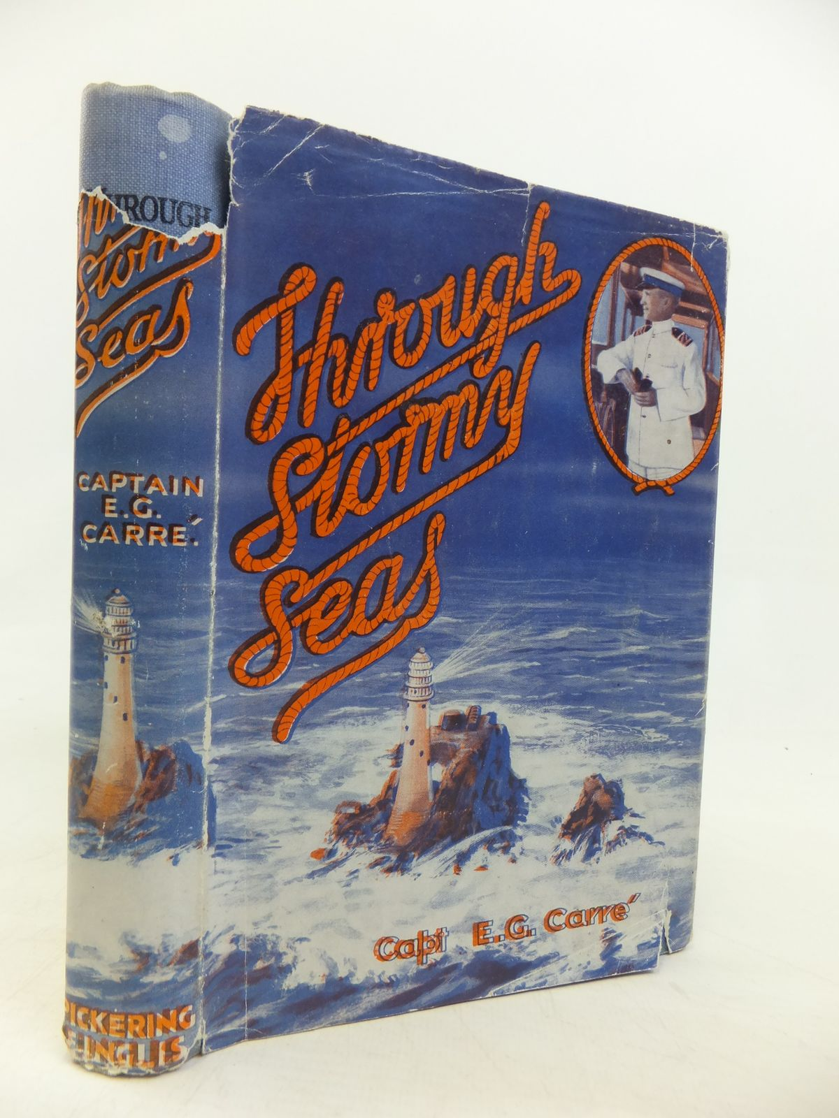 Photo of THROUGH STORMY SEAS SOME OF THE SPIRITUAL CRISES IN MY LIFE AFLOAT written by Carre, E.G. published by Pickering & Inglis Ltd. (STOCK CODE: 2115579)  for sale by Stella & Rose's Books