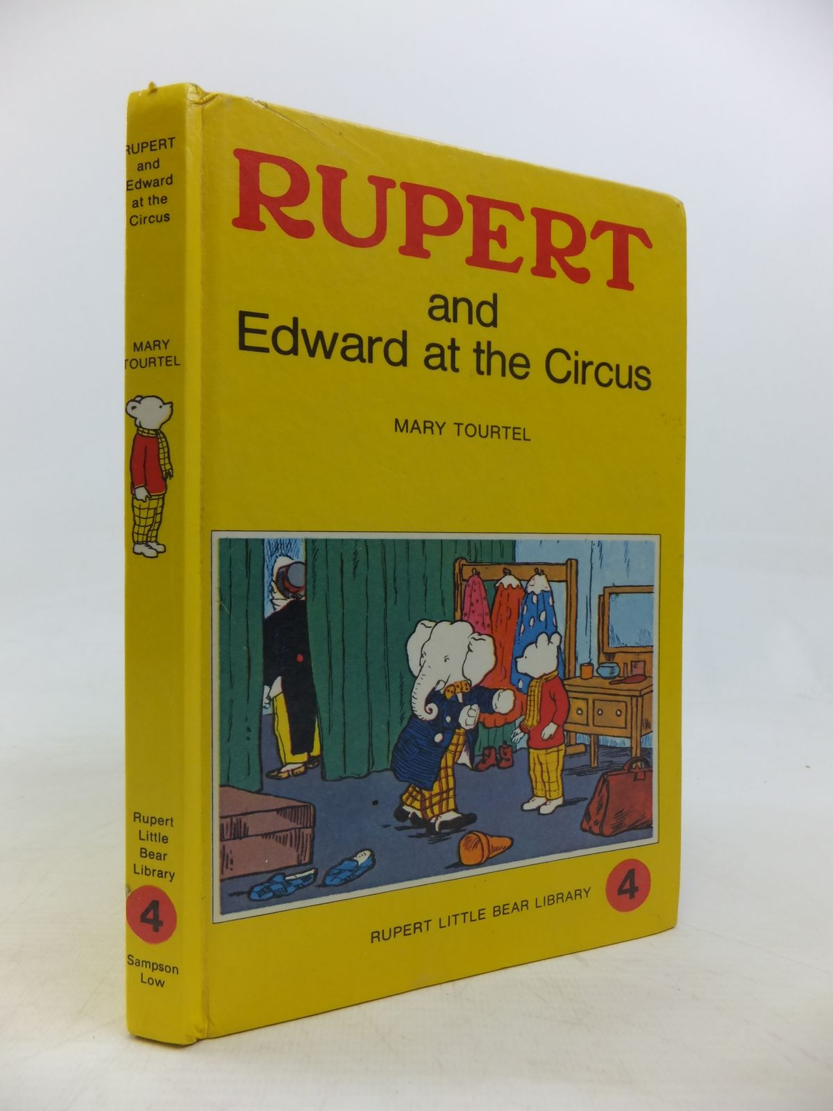Photo of RUPERT AND EDWARD AT THE CIRCUS - RUPERT LITTLE BEAR LIBRARY No. 4 (WOOLWORTH)- Stock Number: 2115766