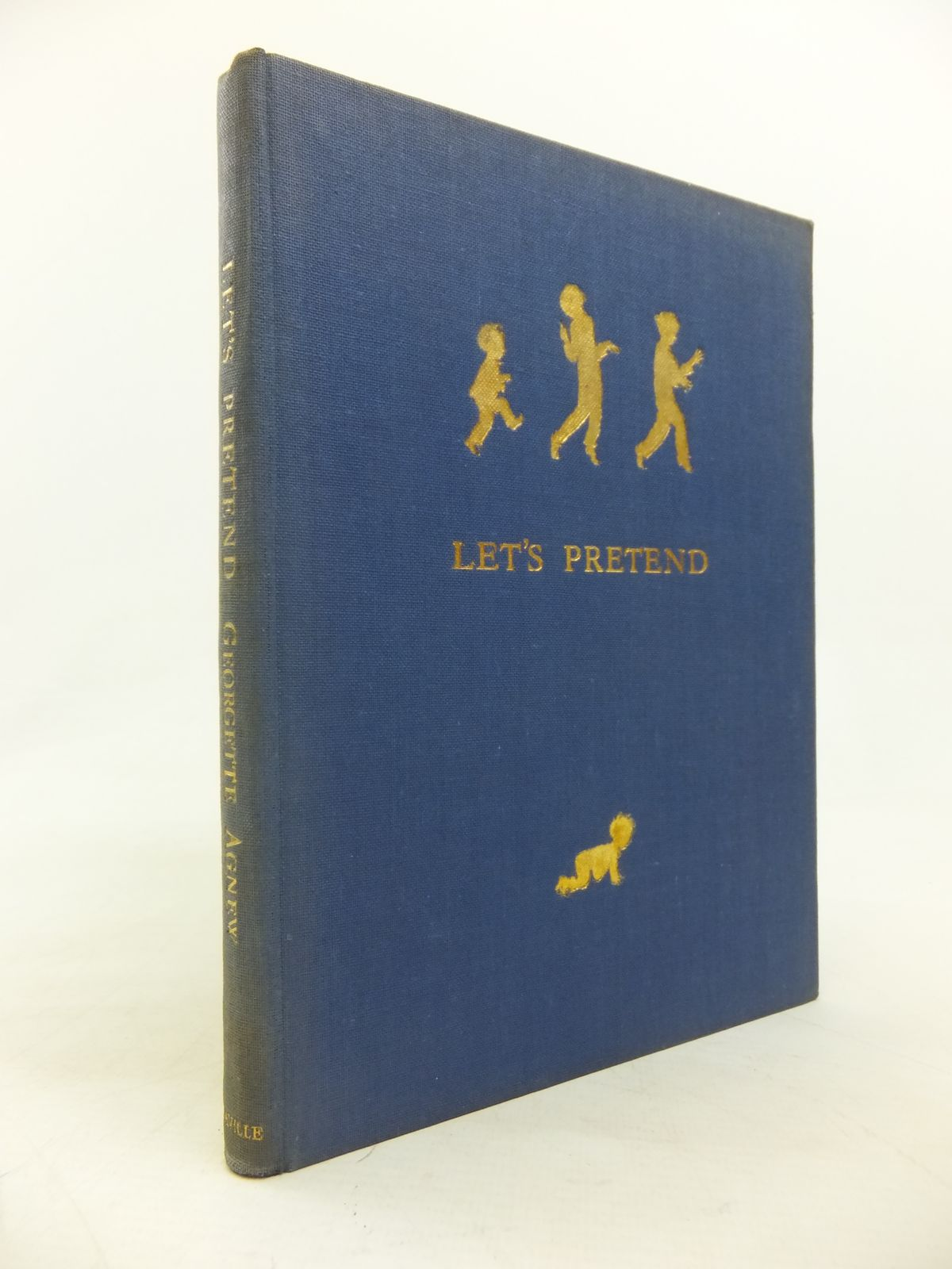 Photo of LET'S PRETEND written by Agnew, Georgette illustrated by Shepard, E.H. published by J. Saville & Co. Ltd. (STOCK CODE: 2115788)  for sale by Stella & Rose's Books