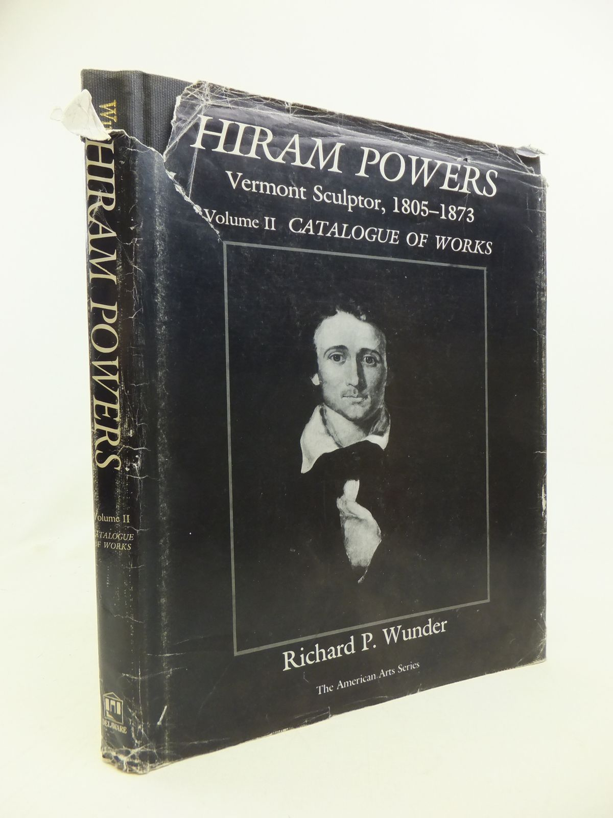 Photo of HIRAM POWERS VERMONT SCULPTOR, 1805-1873 VOLUME II CATALOGUE OF WORKS written by Wunder, Richard P. published by Associated University Press (STOCK CODE: 2115820)  for sale by Stella & Rose's Books