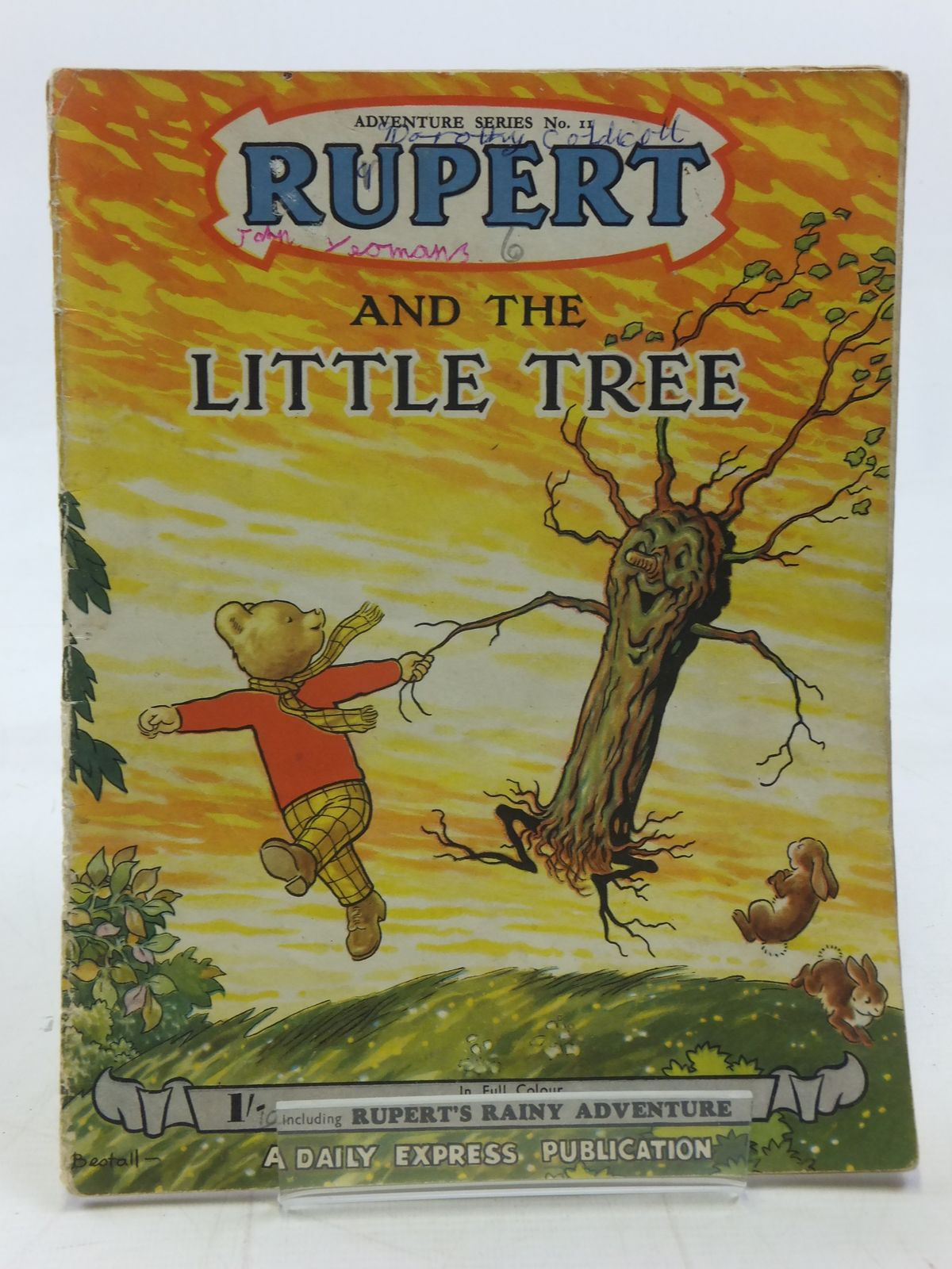 Photo of RUPERT ADVENTURE SERIES No. 11 - RUPERT AND THE LITTLE TREE written by Bestall, Alfred illustrated by Bestall, Alfred published by Daily Express (STOCK CODE: 2115843)  for sale by Stella & Rose's Books