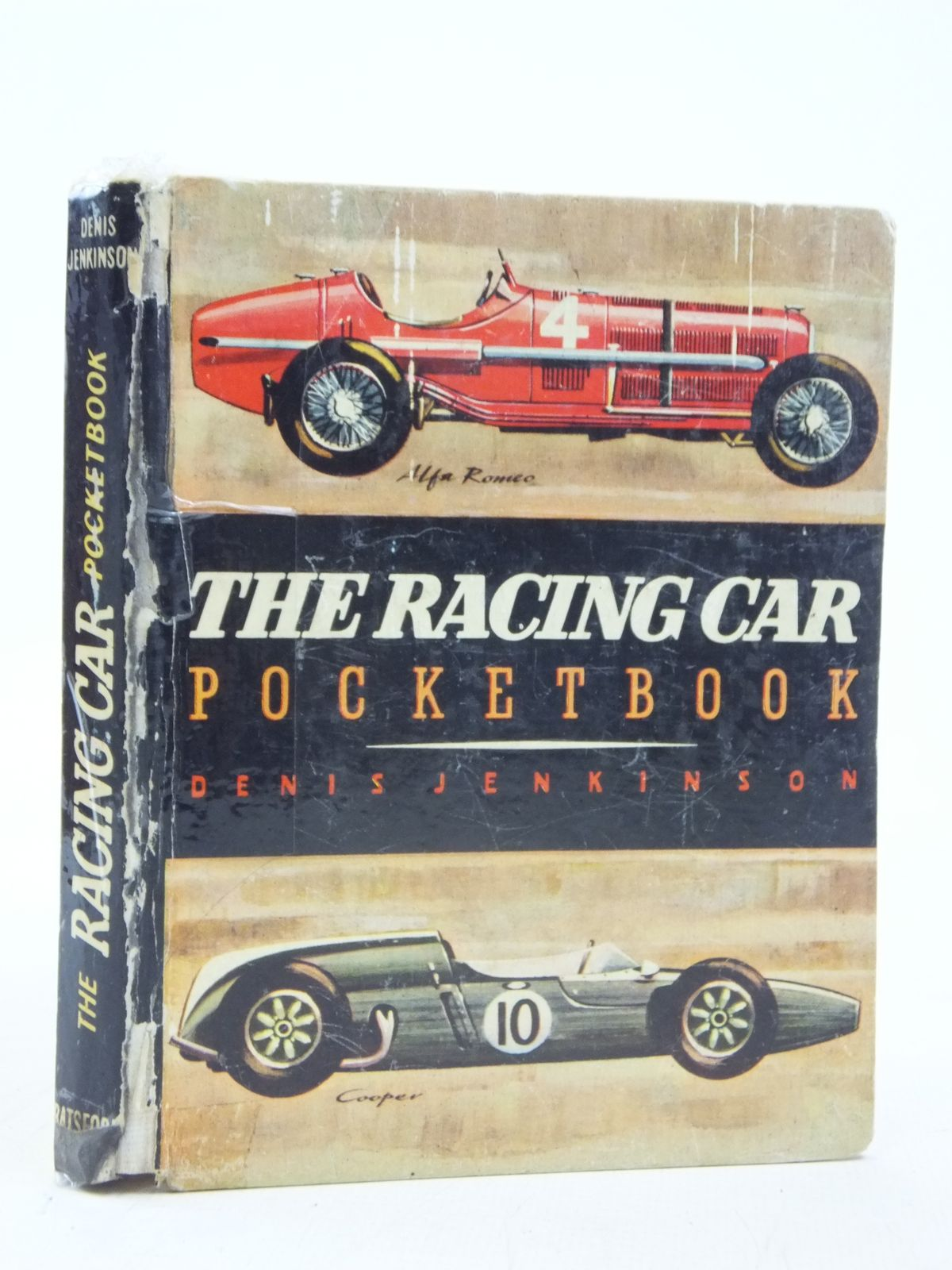 Photo of THE RACING CAR POCKETBOOK written by Jenkinson, Denis published by B.T. Batsford (STOCK CODE: 2115956)  for sale by Stella & Rose's Books