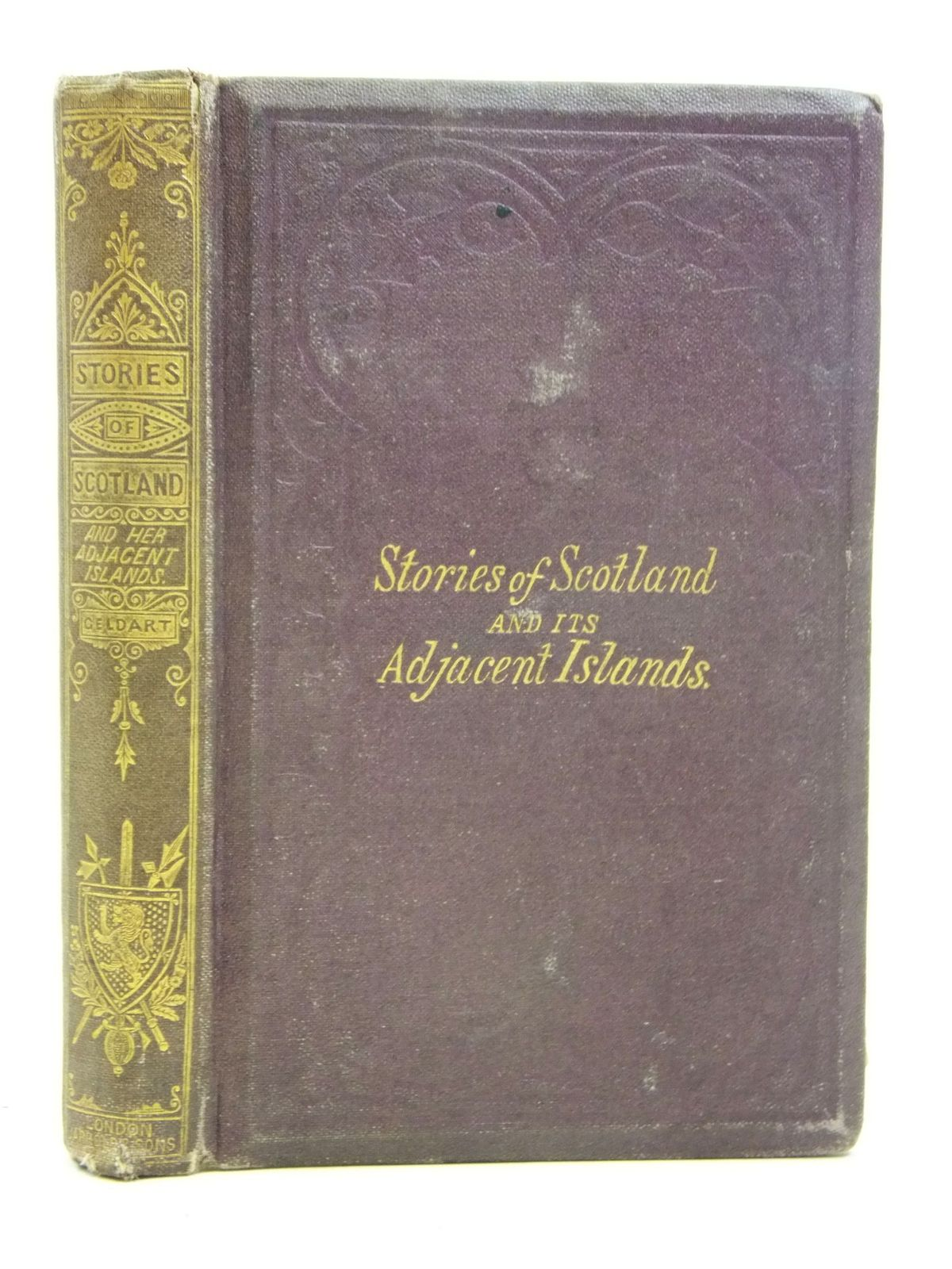 Photo of STORIES OF SCOTLAND AND ITS ADJACENT ISLANDS- Stock Number: 2115957