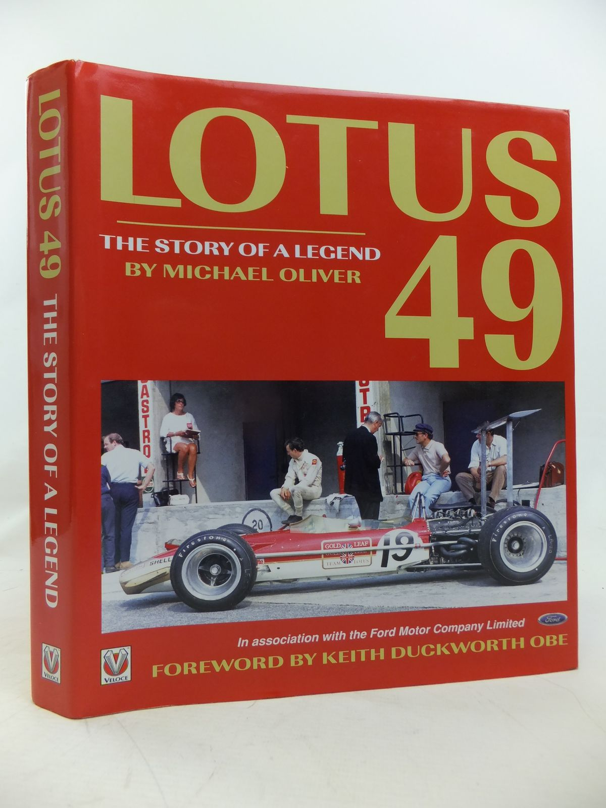 Photo of LOTUS 49 THE STORY OF A LEGEND written by Oliver, Michael published by Veloce Publishing Plc. (STOCK CODE: 2116083)  for sale by Stella & Rose's Books
