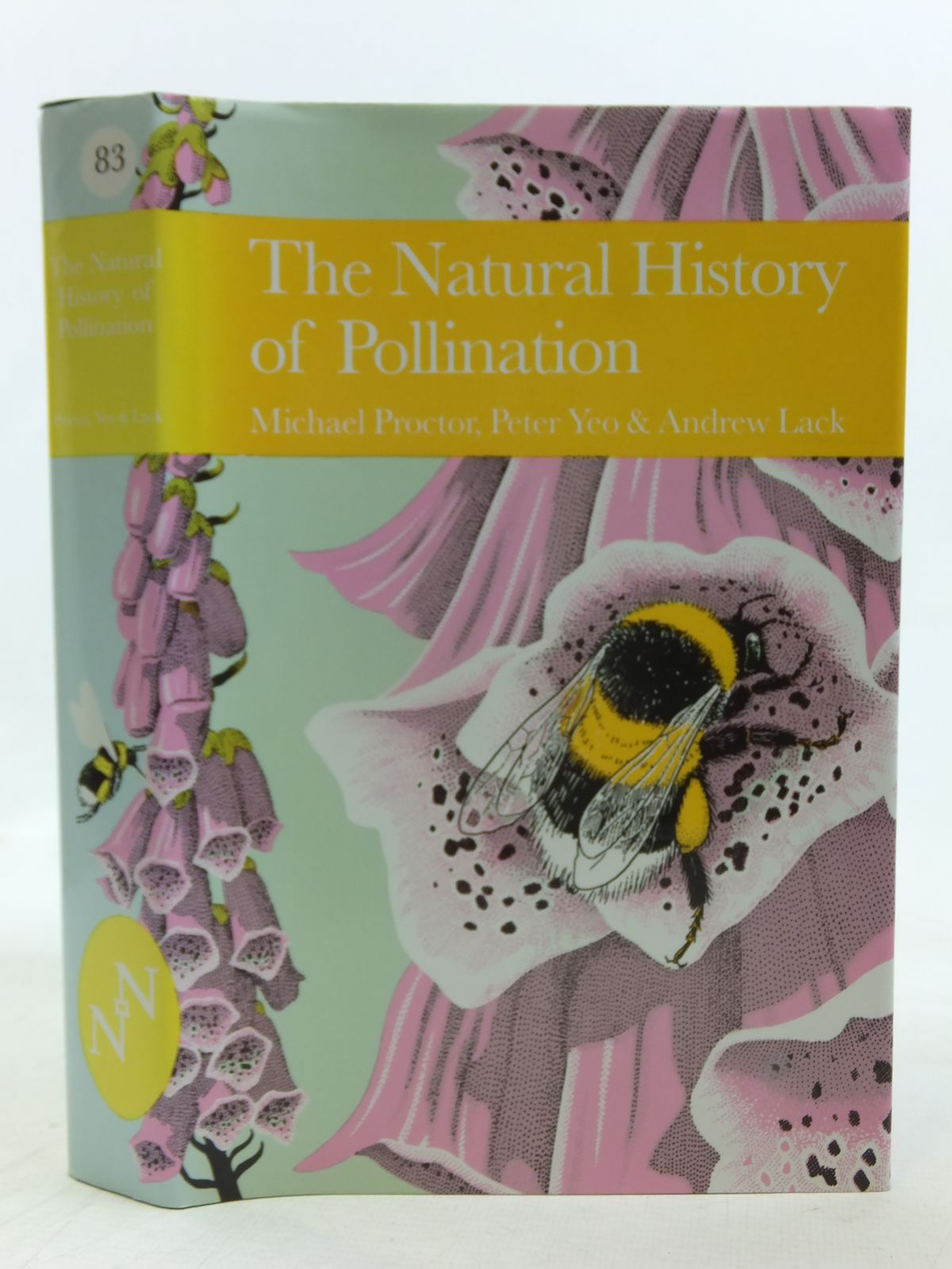 Photo of THE NATURAL HISTORY OF POLLINATION (NN 83) written by Proctor, Michael<br />Yeo, Peter<br />Lack, Andrew published by Harper Collins (STOCK CODE: 2116220)  for sale by Stella & Rose's Books