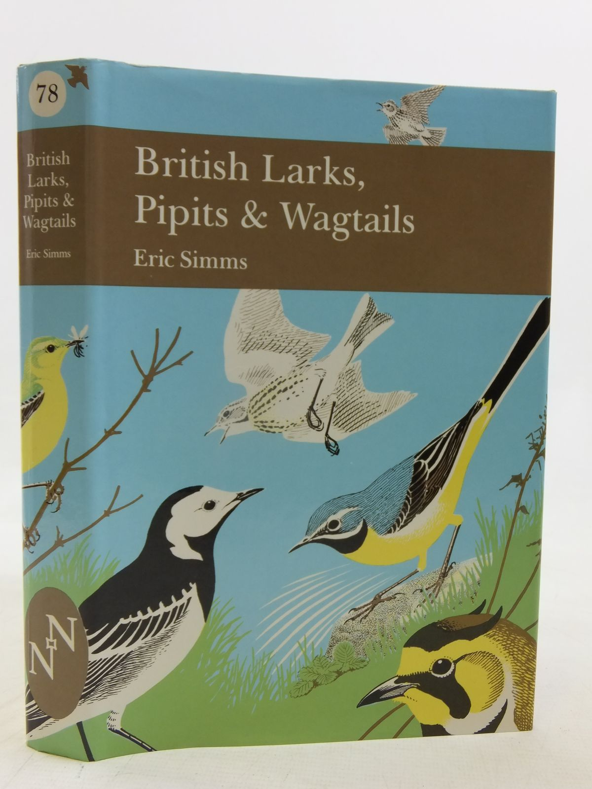 Photo of BRITISH LARKS, PIPITS AND WAGTAILS (NN78) written by Simms, Eric published by Collins (STOCK CODE: 2116224)  for sale by Stella & Rose's Books