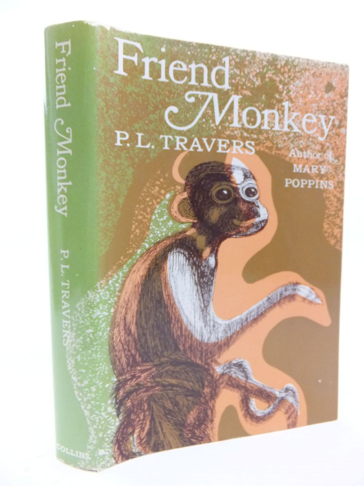 Photo of FRIEND MONKEY written by Travers, P.L. illustrated by Keeping, Charles published by Collins (STOCK CODE: 2116395)  for sale by Stella & Rose's Books