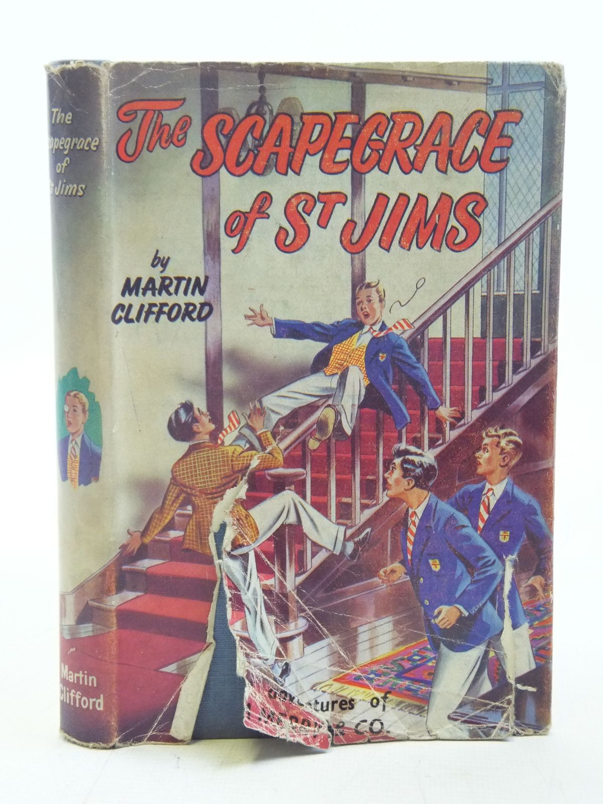 Photo of THE SCAPEGRACE OF ST. JIMS written by Clifford, Martin Richards, Frank published by Spring Books (STOCK CODE: 2116566)  for sale by Stella & Rose's Books