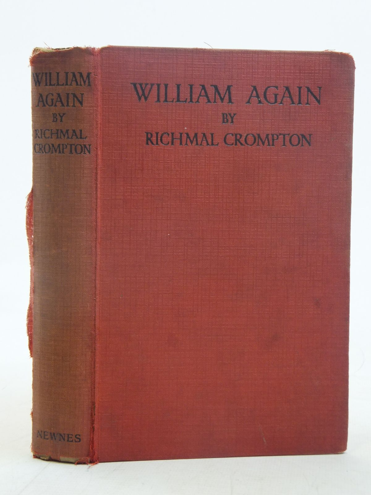 Photo of WILLIAM AGAIN written by Crompton, Richmal illustrated by Henry, Thomas published by George Newnes Ltd. (STOCK CODE: 2116688)  for sale by Stella & Rose's Books