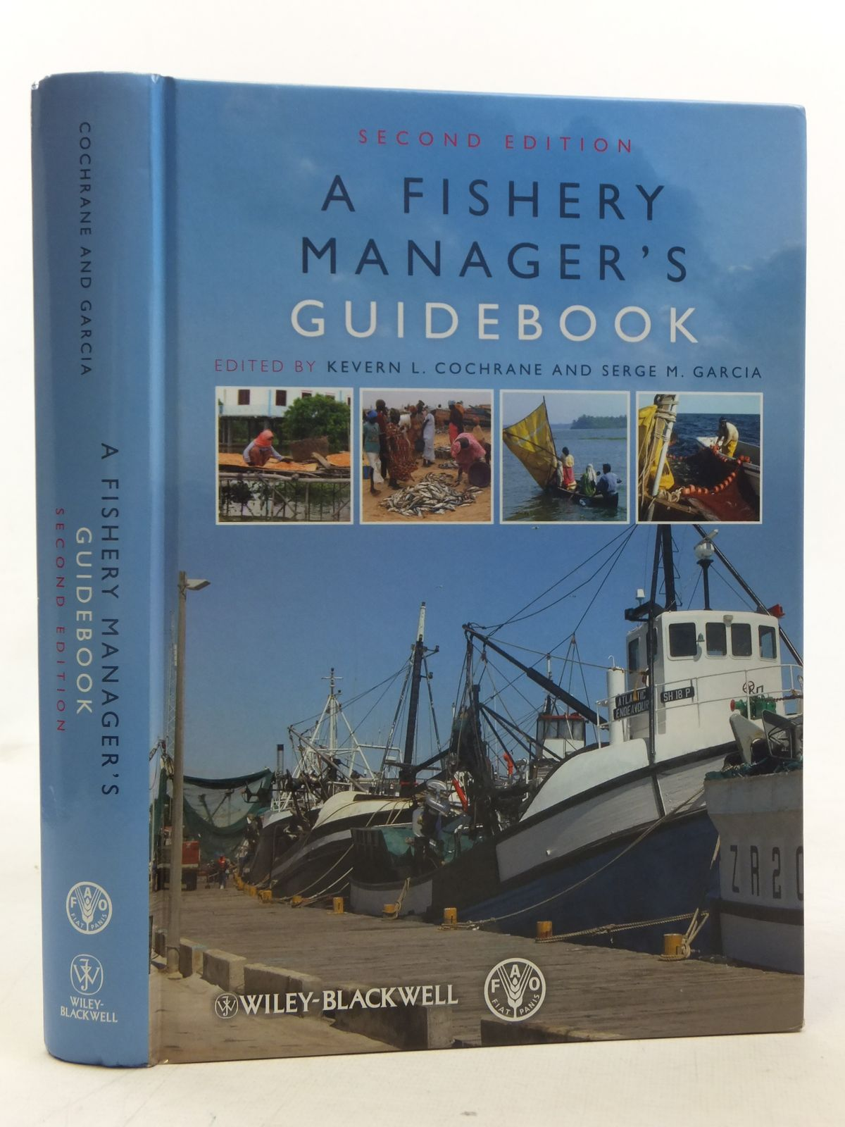 Photo of A FISHERY MANAGER'S GUIDEBOOK written by Cochrane, Kevern L.