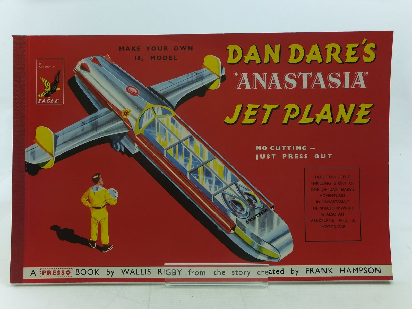 Photo of DAN DARE'S ANASTASIA JET PLANE written by Rigby, Wallis Hampson, Frank illustrated by Hampson, Frank published by Hulton Press (STOCK CODE: 2116702)  for sale by Stella & Rose's Books