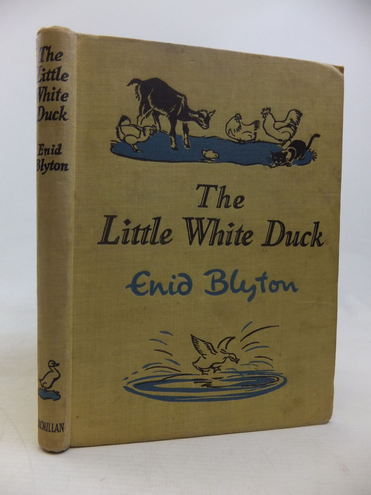 Photo of THE LITTLE WHITE DUCK AND OTHER STORIES written by Blyton, Enid illustrated by Soper, Eileen published by Macmillan & Co. Ltd. (STOCK CODE: 2116883)  for sale by Stella & Rose's Books