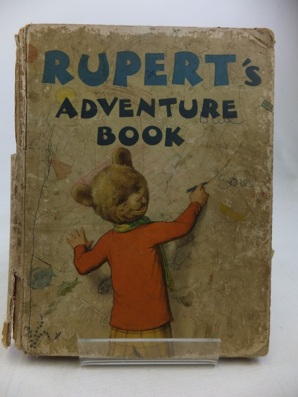 Photo of RUPERT ANNUAL 1940 - RUPERT'S ADVENTURE BOOK written by Bestall, Alfred illustrated by Bestall, Alfred published by Daily Express (STOCK CODE: 2116968)  for sale by Stella & Rose's Books