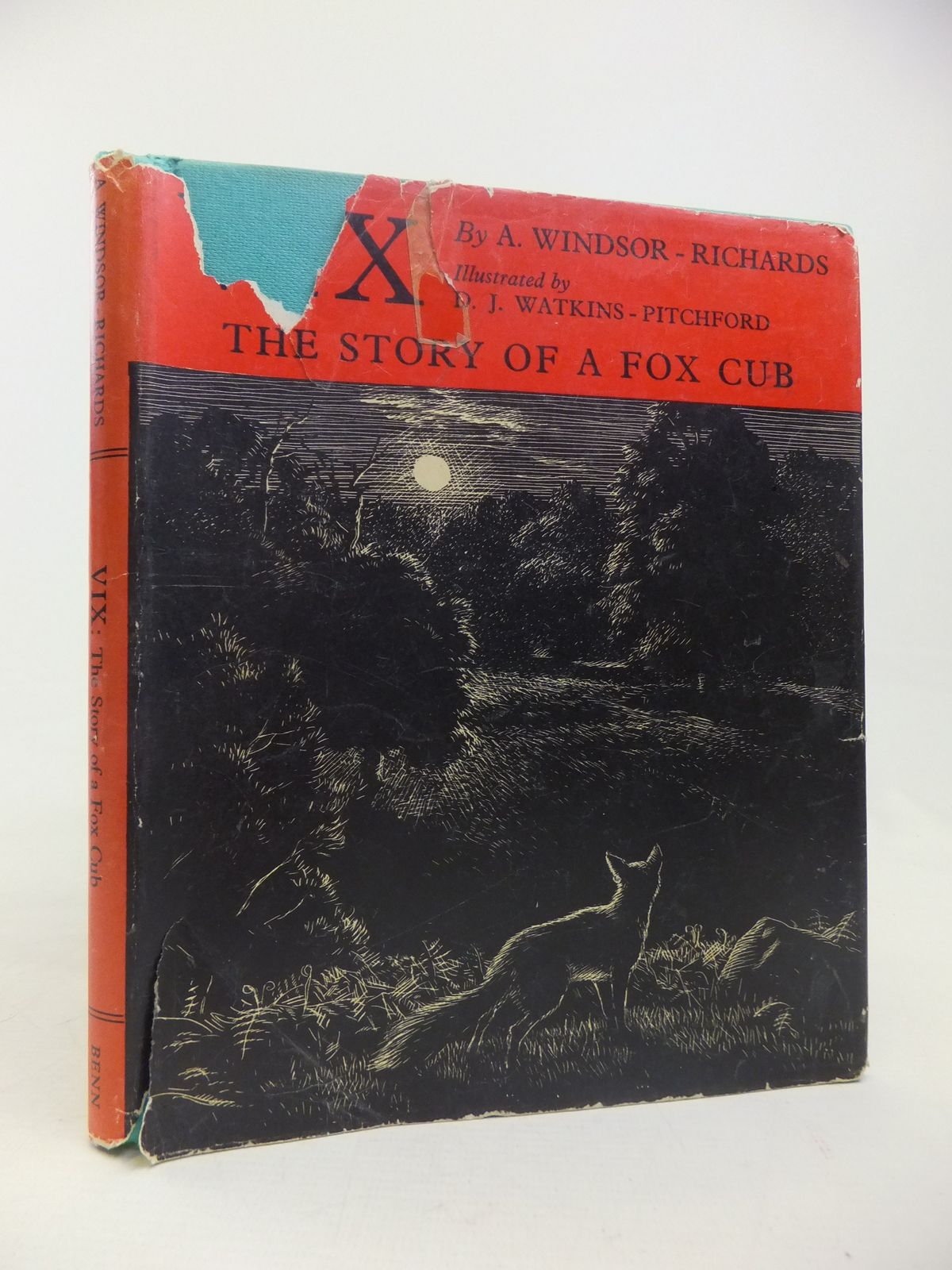 Photo of VIX THE STORY OF A FOX CUB written by Windsor-Richards, A. illustrated by BB,  published by Ernest Benn Limited (STOCK CODE: 2116992)  for sale by Stella & Rose's Books