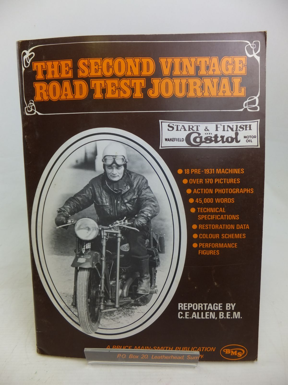 Photo of THE SECOND VINTAGE ROAD TEST JOURNAL- Stock Number: 2116999