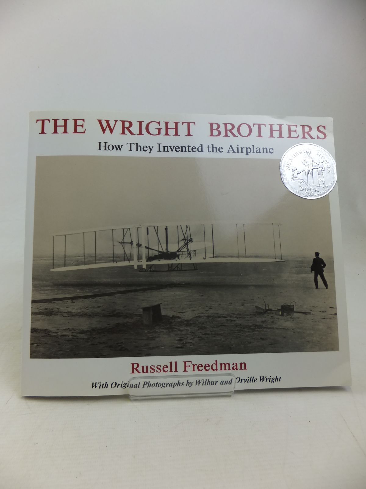 Photo of THE WRIGHT BROTHERS HOW THEY INVENTED THE AIRPLANE written by Freedman, Russell published by Holiday House, New York (STOCK CODE: 2117040)  for sale by Stella & Rose's Books