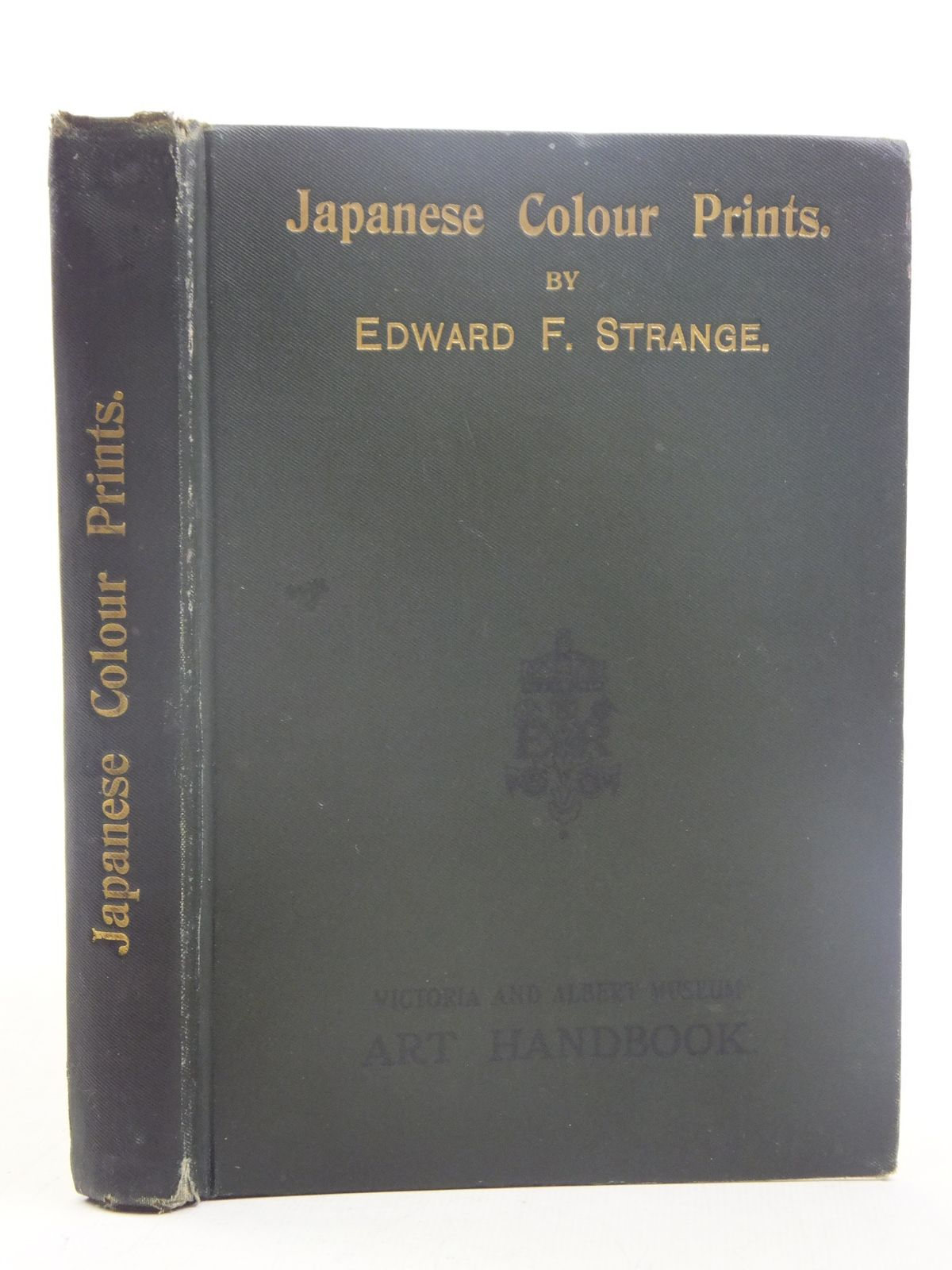 Photo of JAPANESE COLOUR PRINTS written by Strange, Edward F. published by His Majesty's Stationery Office (STOCK CODE: 2117053)  for sale by Stella & Rose's Books