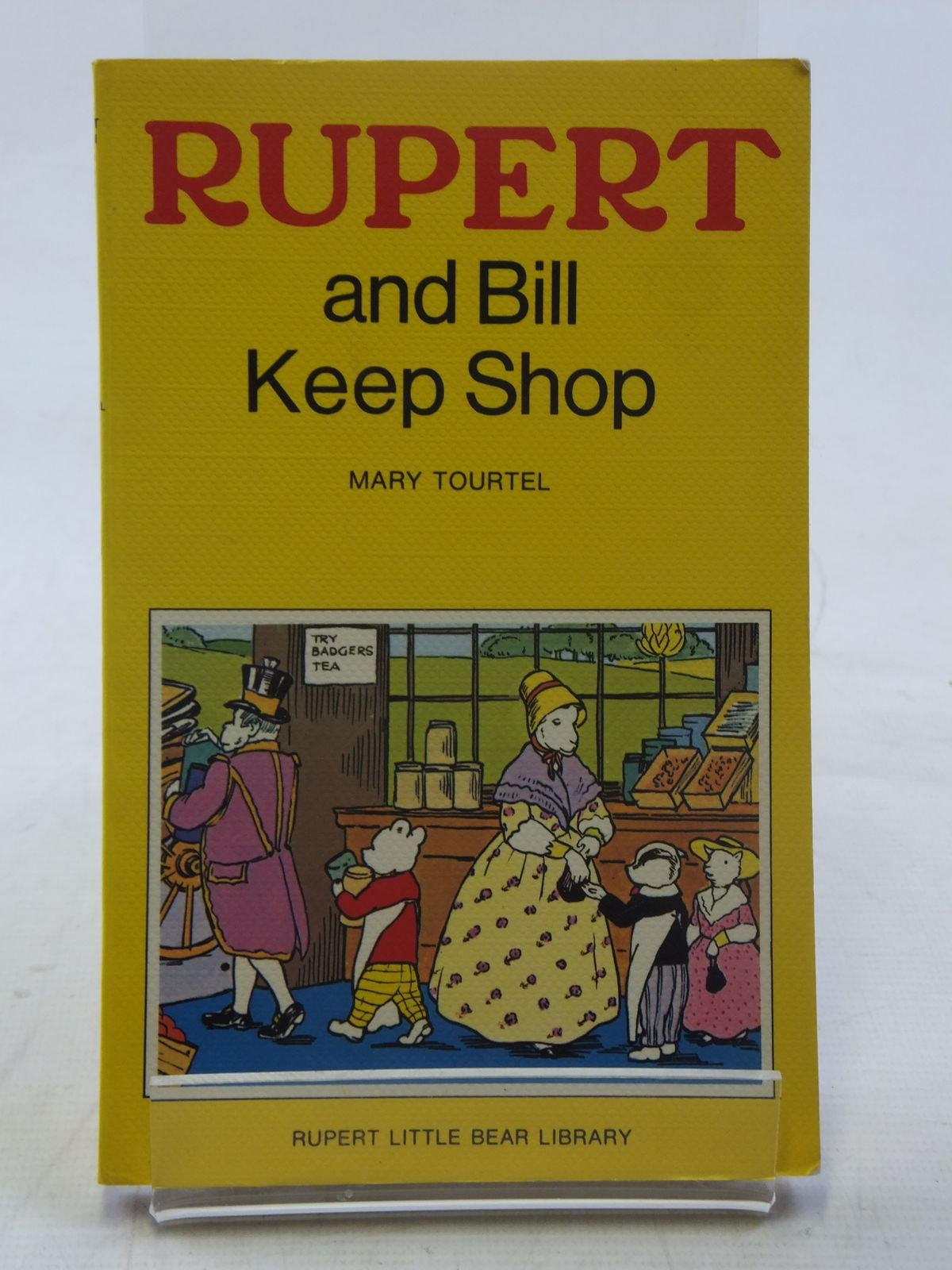 Photo of RUPERT AND BILL KEEP SHOP - RUPERT LITTLE BEAR LIBRARY No. 14 (WOOLWORTH)- Stock Number: 2117143