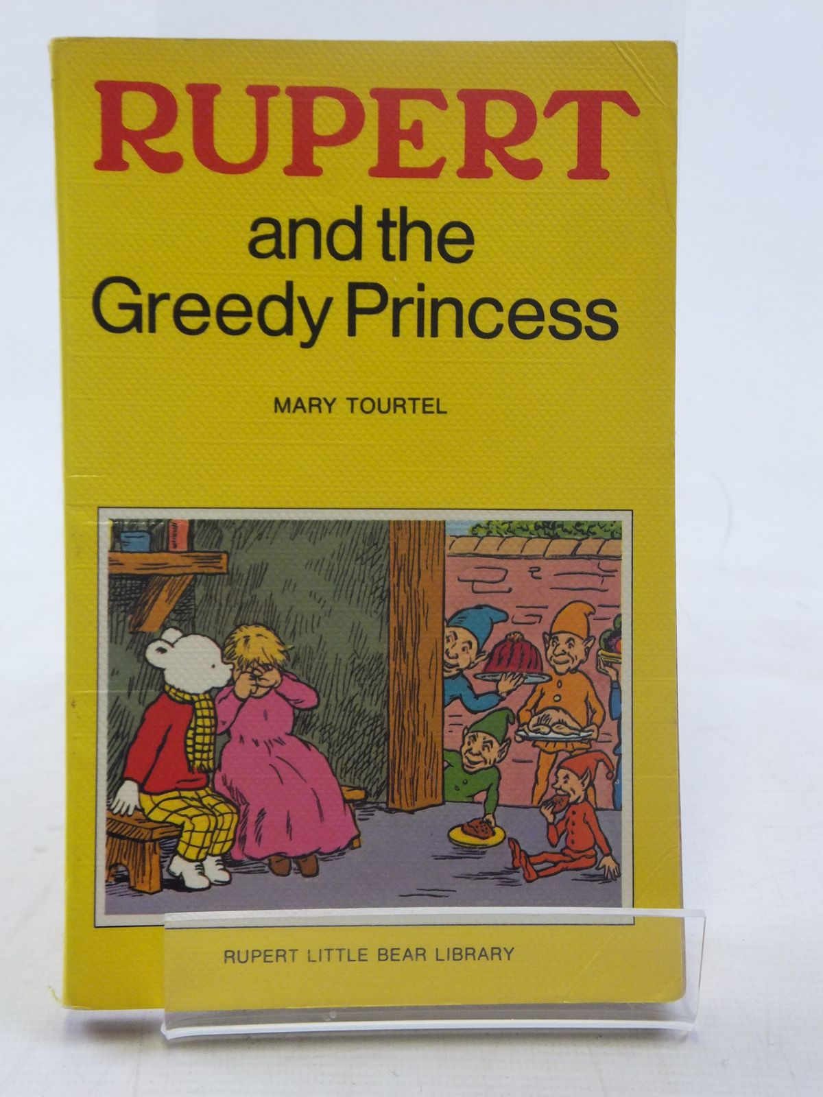 Photo of RUPERT AND THE GREEDY PRINCESS - RUPERT LITTLE BEAR LIBRARY No. 11 (WOOLWORTH)- Stock Number: 2117144