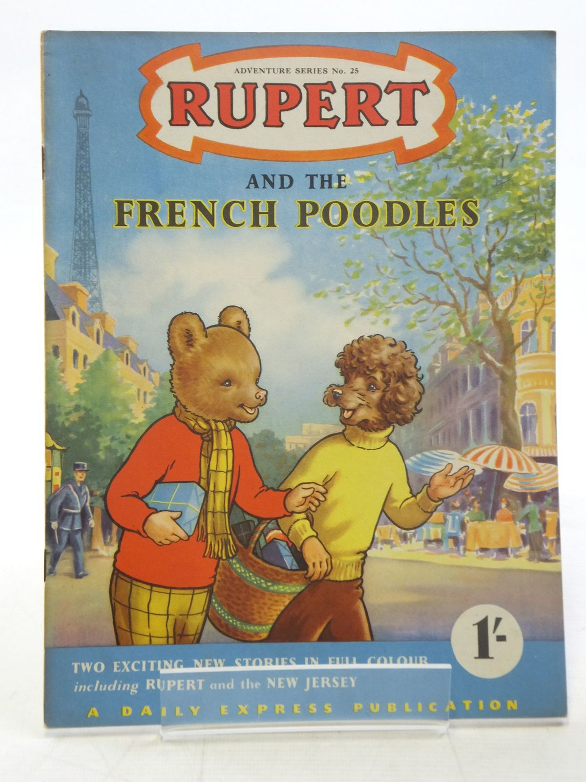 Photo of RUPERT ADVENTURE SERIES No. 25 - RUPERT AND THE FRENCH POODLES written by Bestall, Alfred published by Daily Express (STOCK CODE: 2117171)  for sale by Stella & Rose's Books