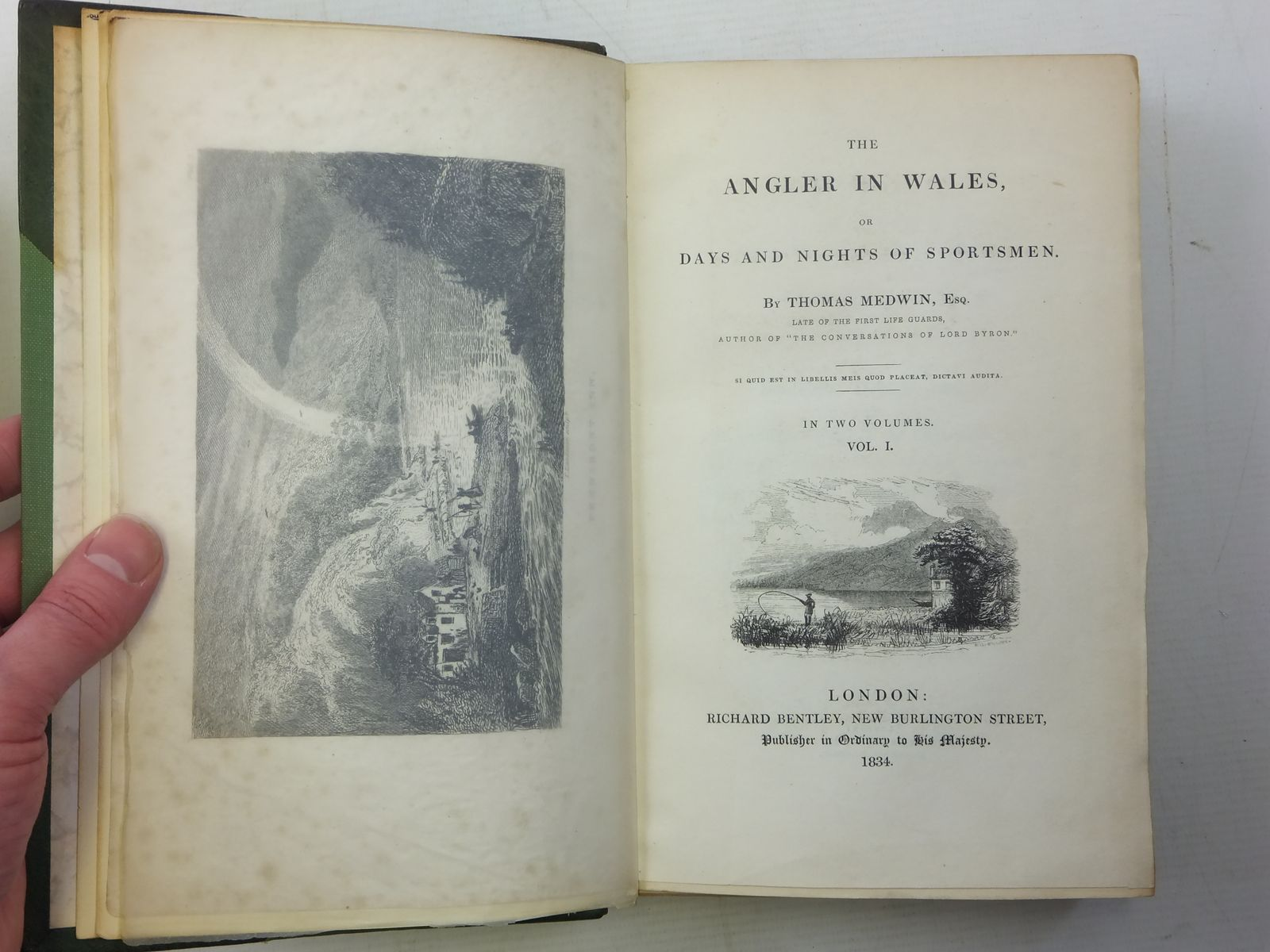 Photo of THE ANGLER IN WALES (2 VOLUMES) written by Medwin, Thomas published by Richard Bentley (STOCK CODE: 2117186)  for sale by Stella & Rose's Books