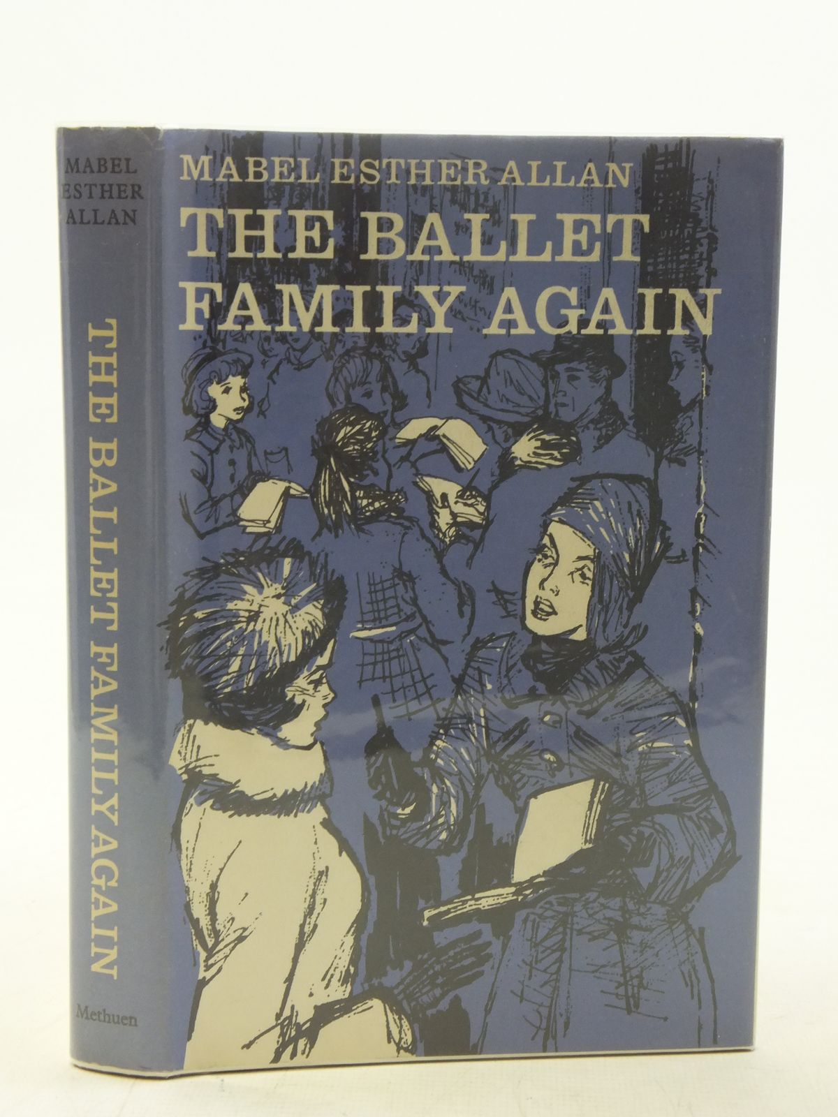 Photo of THE BALLET FAMILY AGAIN written by Allan, Mabel Esther illustrated by Whitear, published by Methuen & Co. Ltd. (STOCK CODE: 2117220)  for sale by Stella & Rose's Books