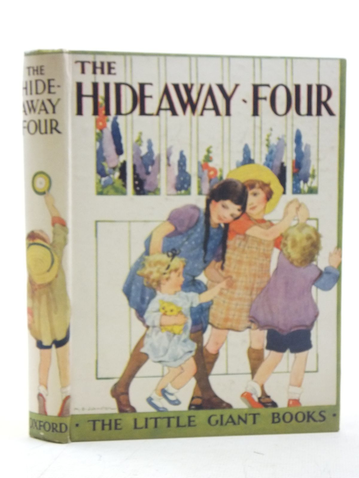 Photo of THE HIDEAWAY-FOUR written by Strang, Mrs. Herbert illustrated by Sowerby, Millicent<br />Lodge, Grace published by Humphrey Milford, Oxford University Press (STOCK CODE: 2117232)  for sale by Stella & Rose's Books