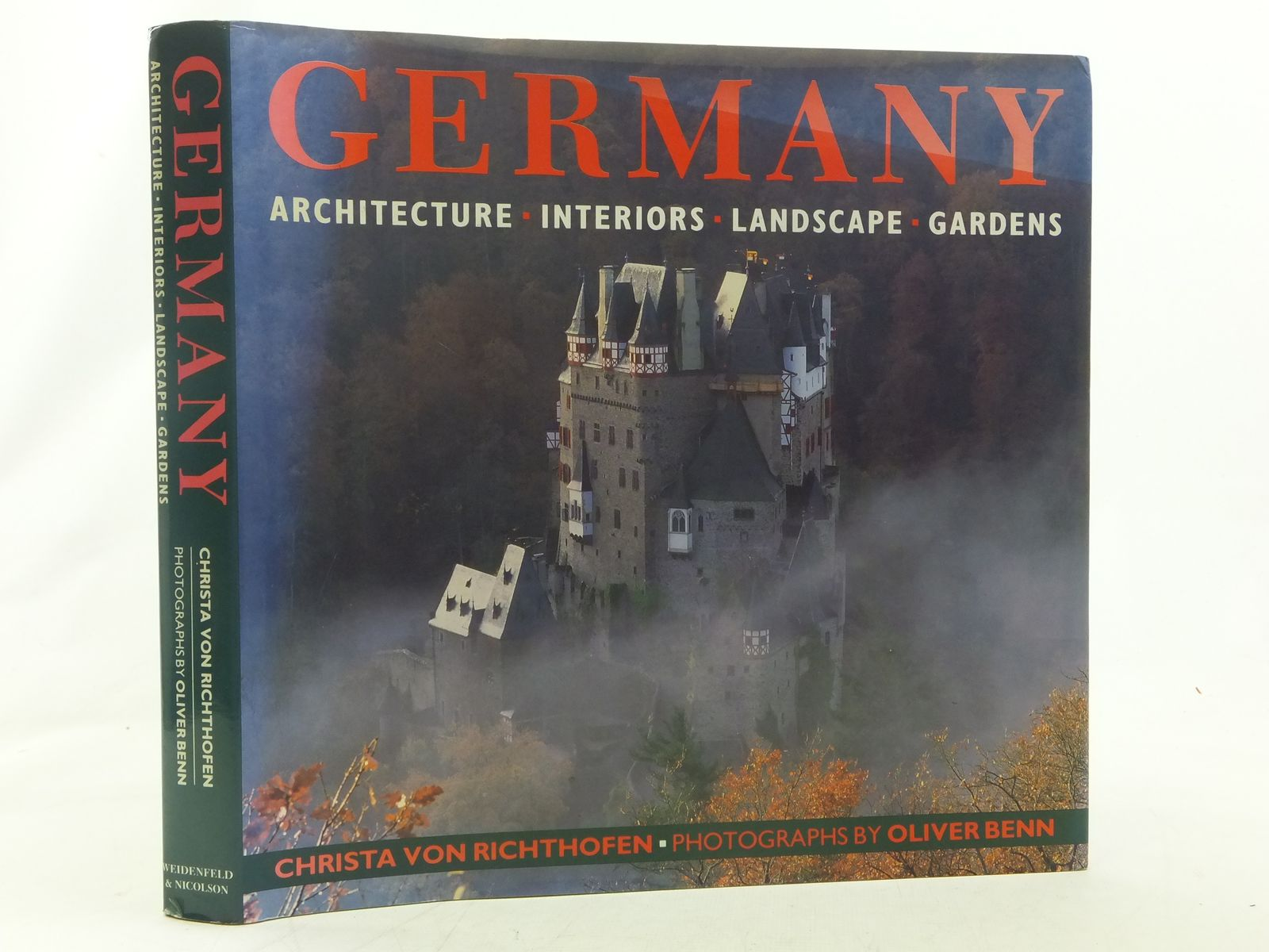Photo of GERMANY ARCHITECTURE, INTERIORS, LANDSCAPE, GARDENS written by Von Richthofen, Christa illustrated by Benn, Oliver published by Weidenfeld and Nicolson (STOCK CODE: 2117271)  for sale by Stella & Rose's Books