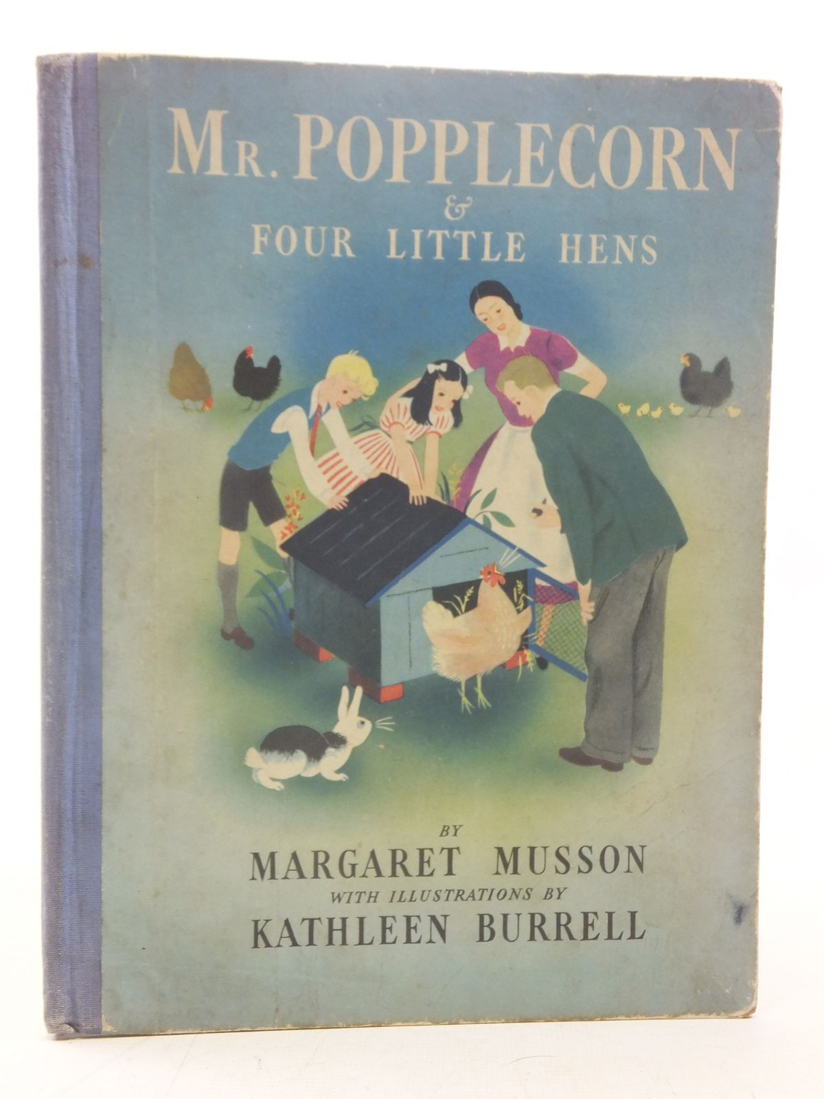 Photo of MR POPPLECORN & FOUR LITTLE HENS written by Musson, Margaret illustrated by Burrell, Kathleen published by George G. Harrap & Co. Ltd. (STOCK CODE: 2117286)  for sale by Stella & Rose's Books
