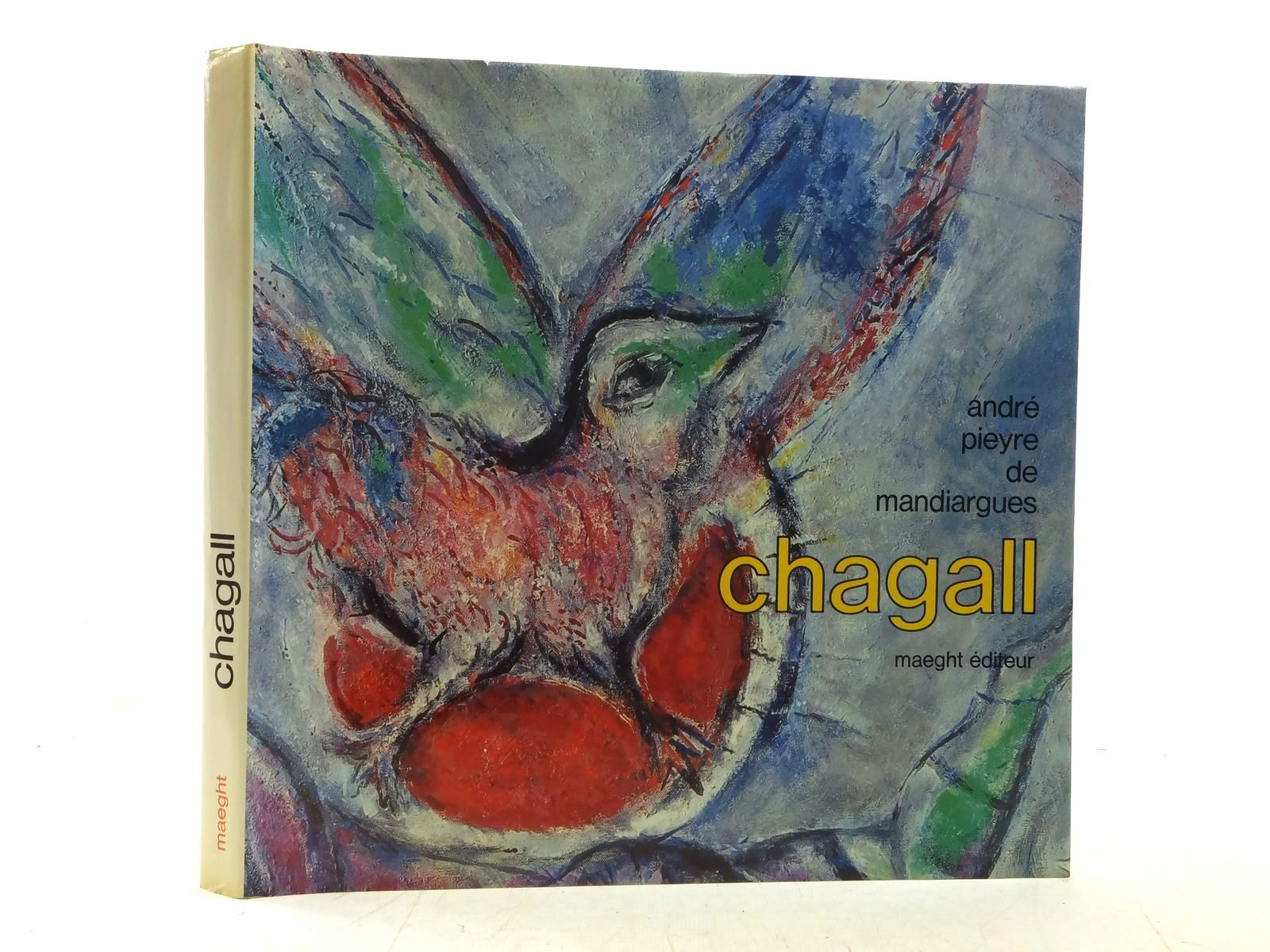 Photo of CHAGALL written by De Mandiargues, Andre Pieyre illustrated by Chagall, Marc published by Maeght Editeur (STOCK CODE: 2117335)  for sale by Stella & Rose's Books