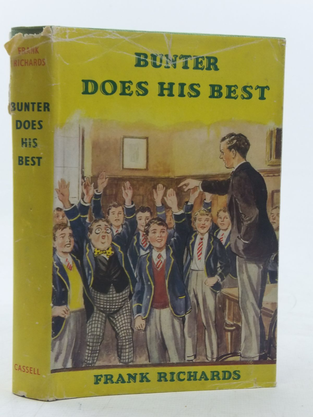 Photo of BUNTER DOES HIS BEST written by Richards, Frank illustrated by Macdonald, R.J. published by Cassell & Co. Ltd. (STOCK CODE: 2117539)  for sale by Stella & Rose's Books