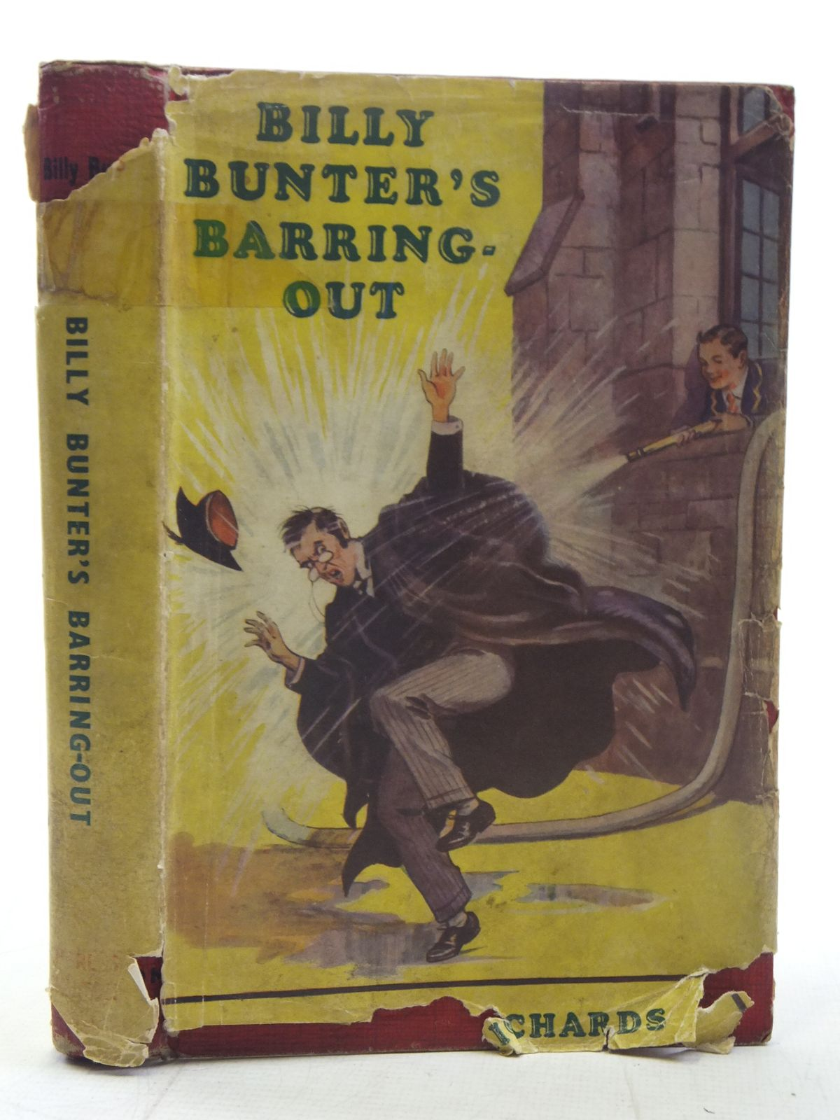 Photo of BILLY BUNTER'S BARRING-OUT written by Richards, Frank illustrated by Macdonald, R.J. published by Charles Skilton (STOCK CODE: 2117551)  for sale by Stella & Rose's Books