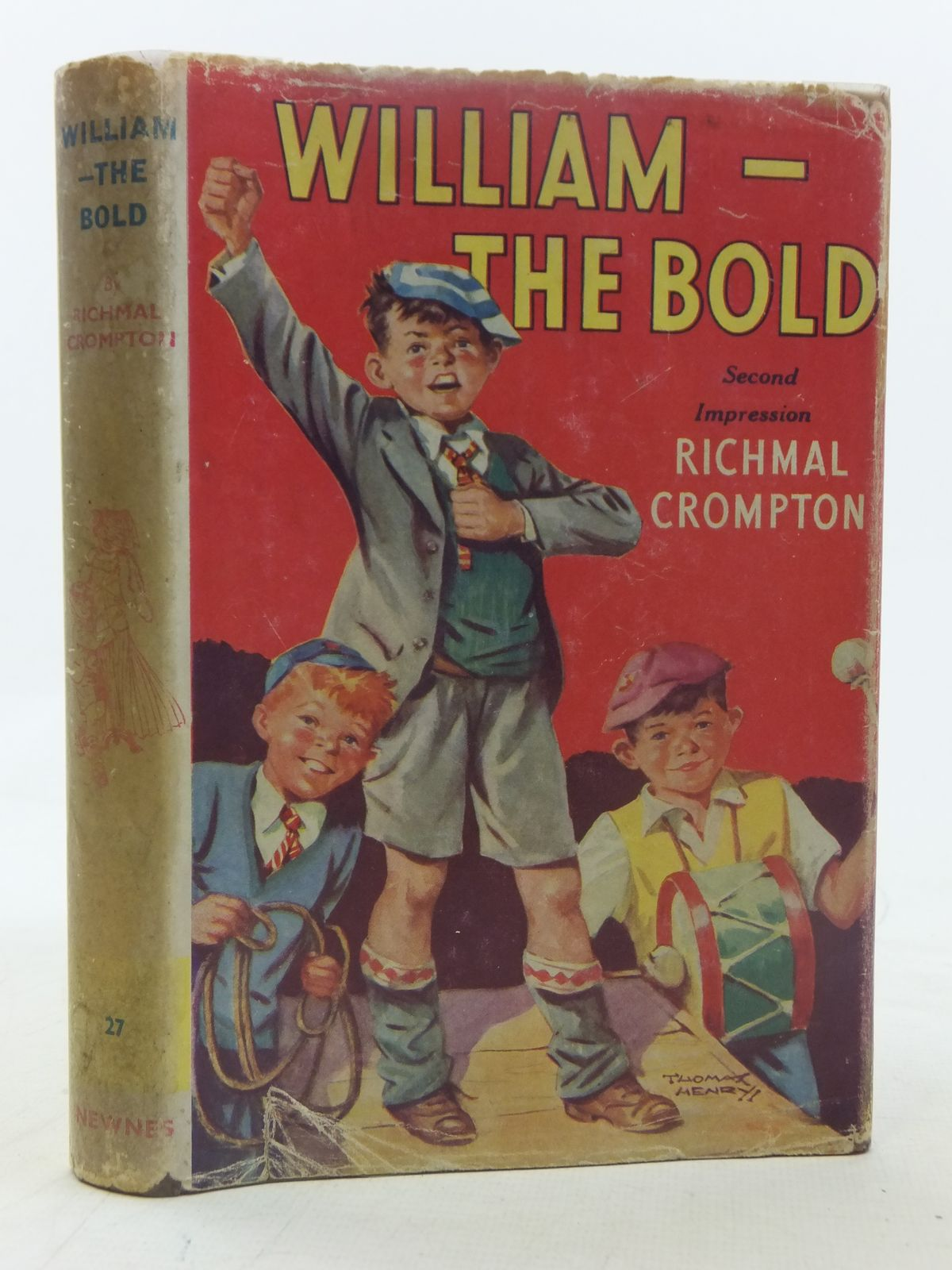 Photo of WILLIAM-THE BOLD written by Crompton, Richmal illustrated by Henry, Thomas published by George Newnes Ltd. (STOCK CODE: 2117594)  for sale by Stella & Rose's Books