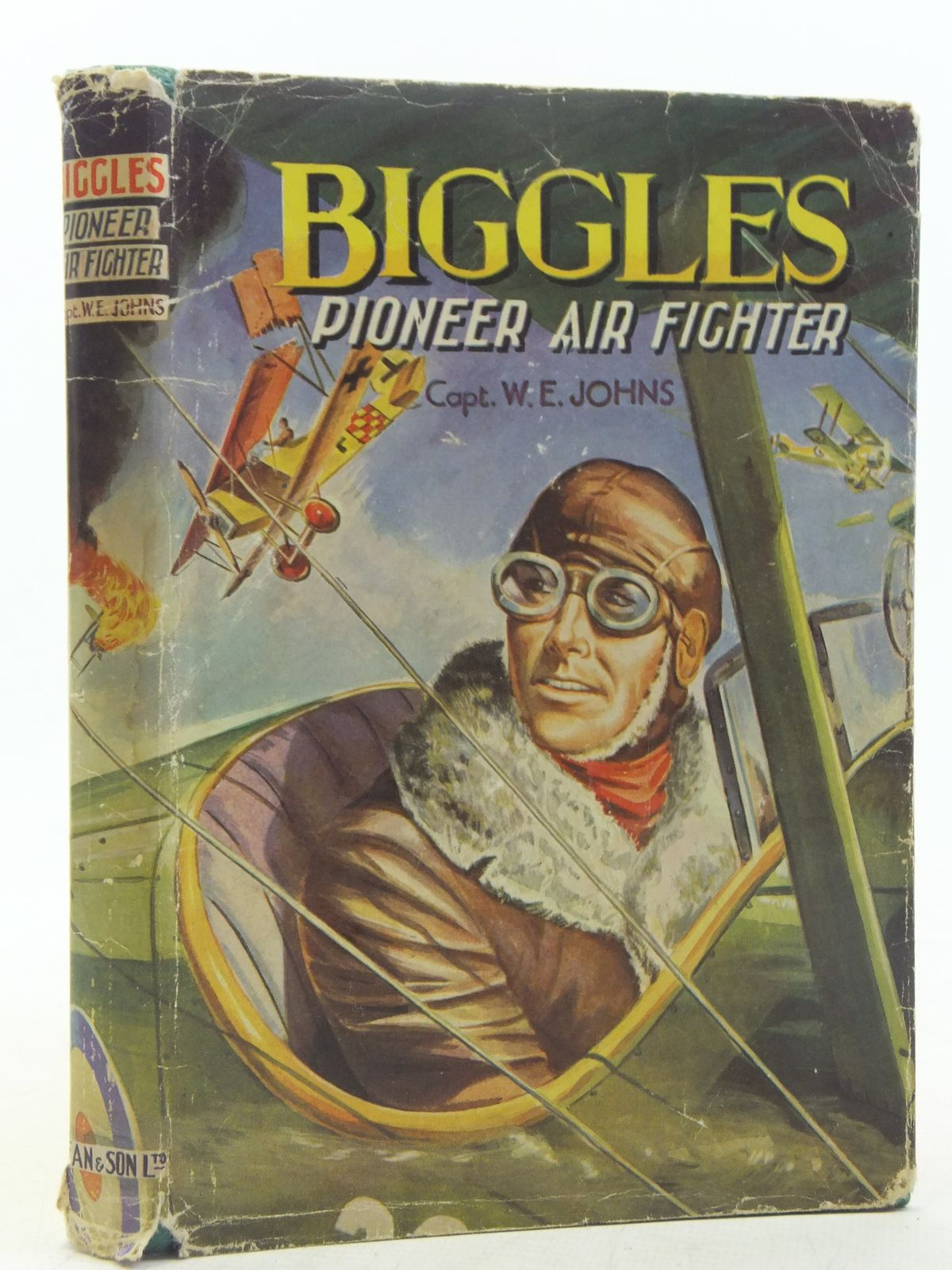 Photo of BIGGLES PIONEER AIR FIGHTER written by Johns, W.E. published by Dean & Son Ltd. (STOCK CODE: 2117605)  for sale by Stella & Rose's Books